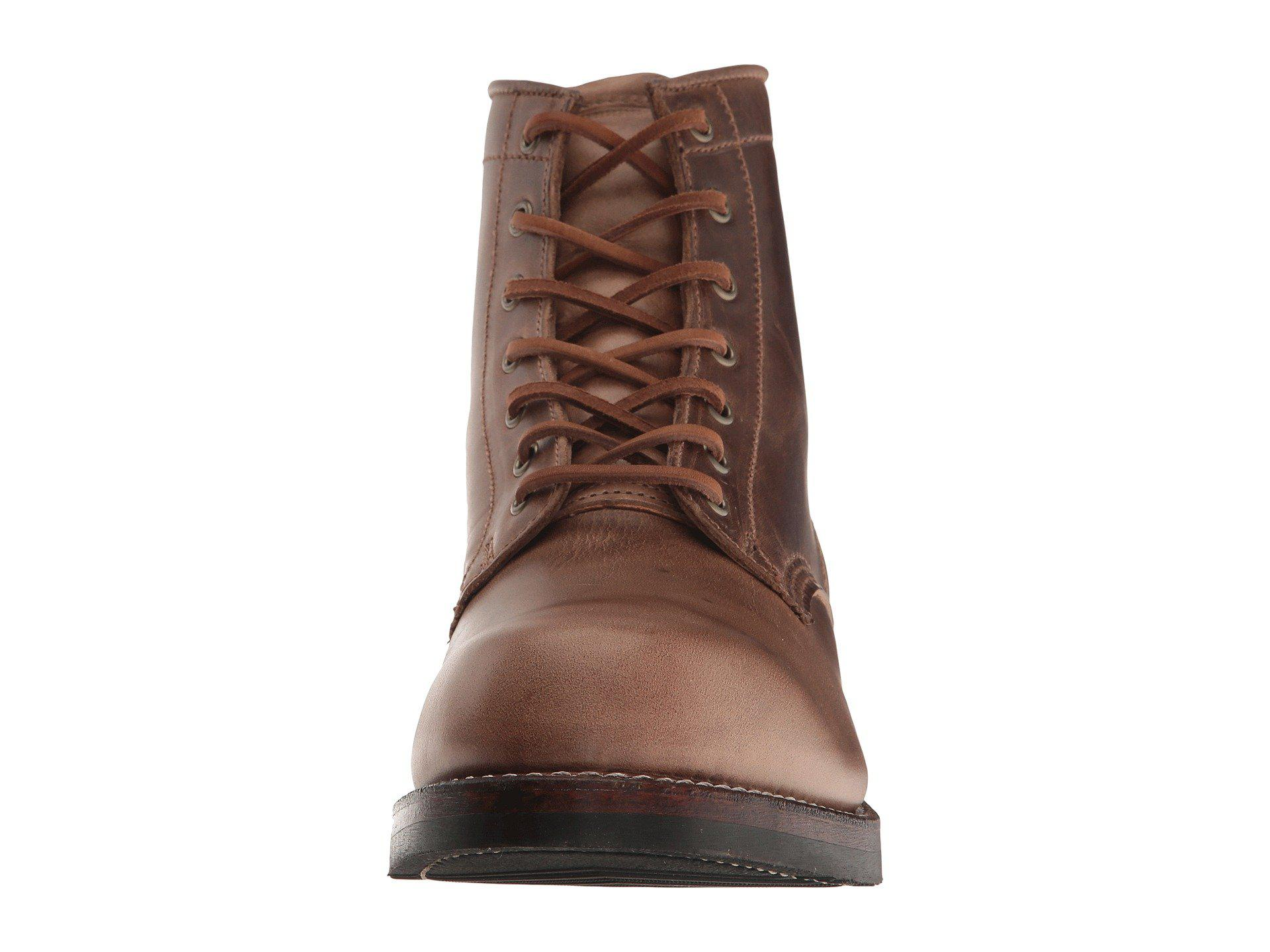 8f7ca2a0354 Frye - Brown John Addison Lace-up (black Waterproof Smooth Pull Up) Men s.  View fullscreen