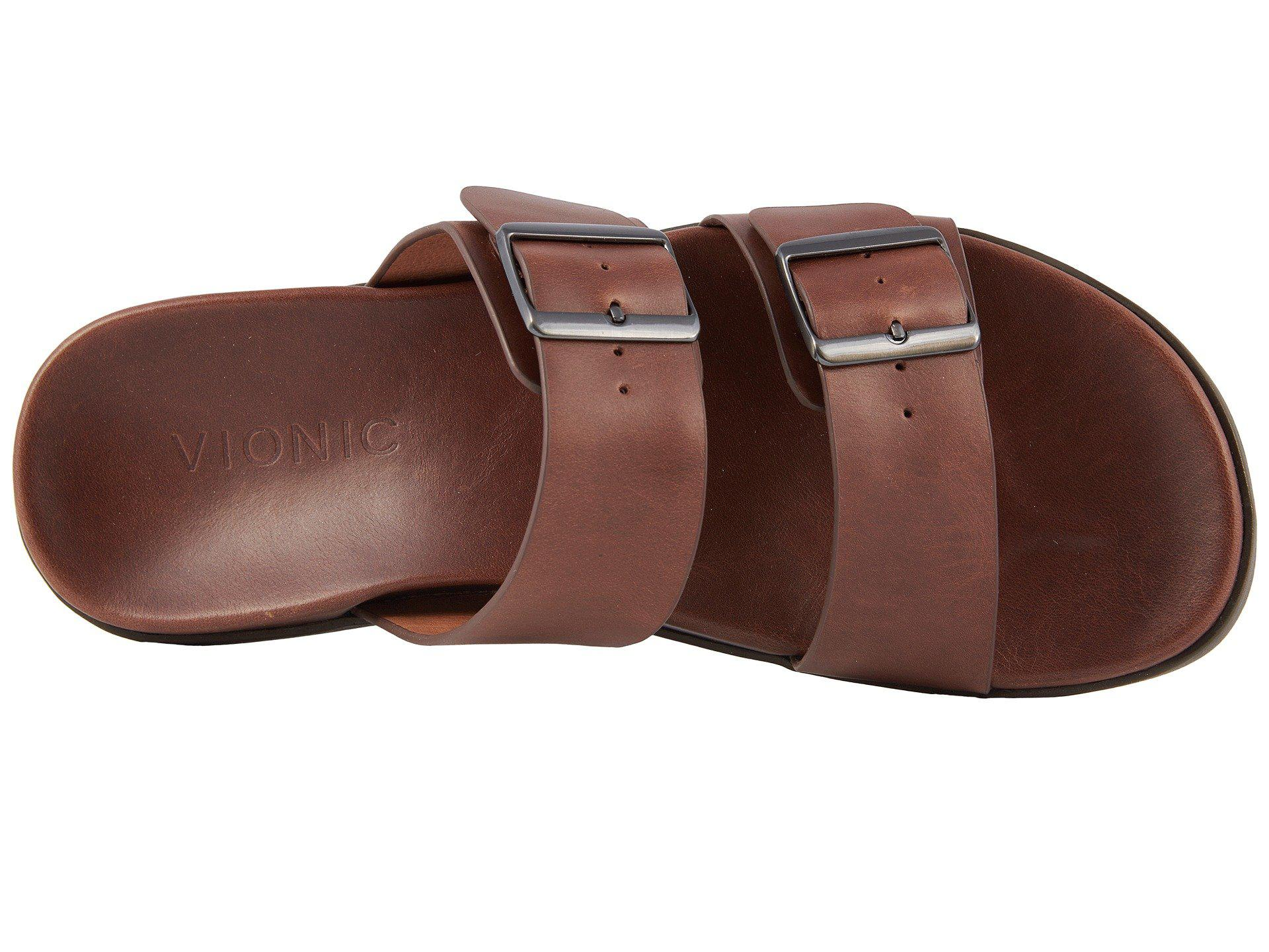 1a00bf802298 Vionic - Brown Charlie (black) Men s Sandals for Men - Lyst. View fullscreen