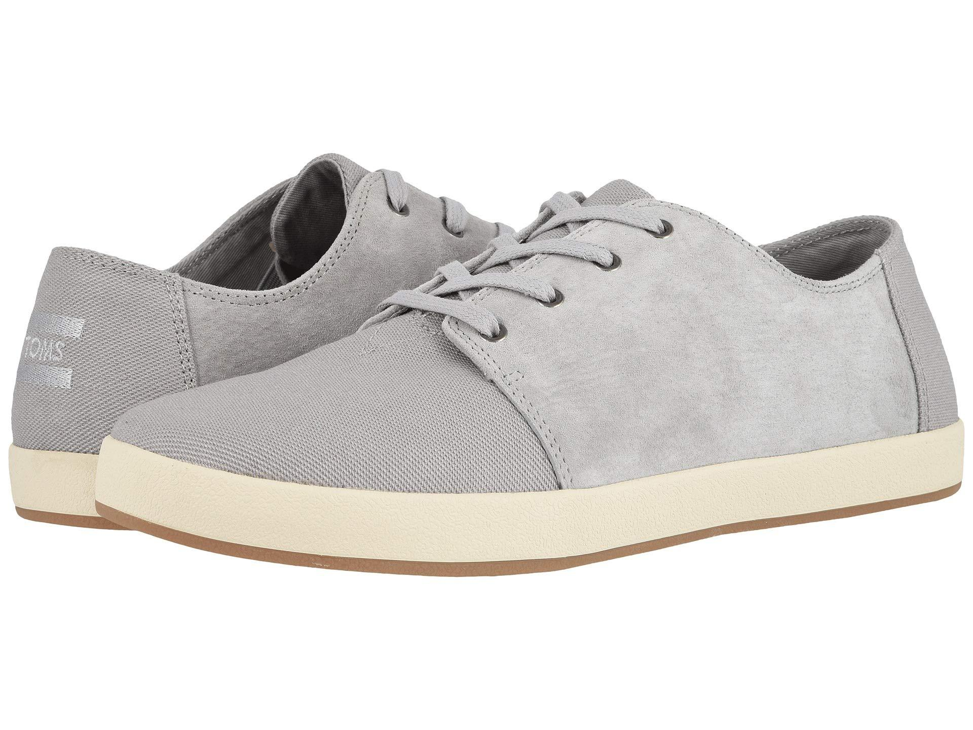 d9c74802b7d Lyst - TOMS Payton (grey Denim) Men s Lace Up Casual Shoes in Gray ...