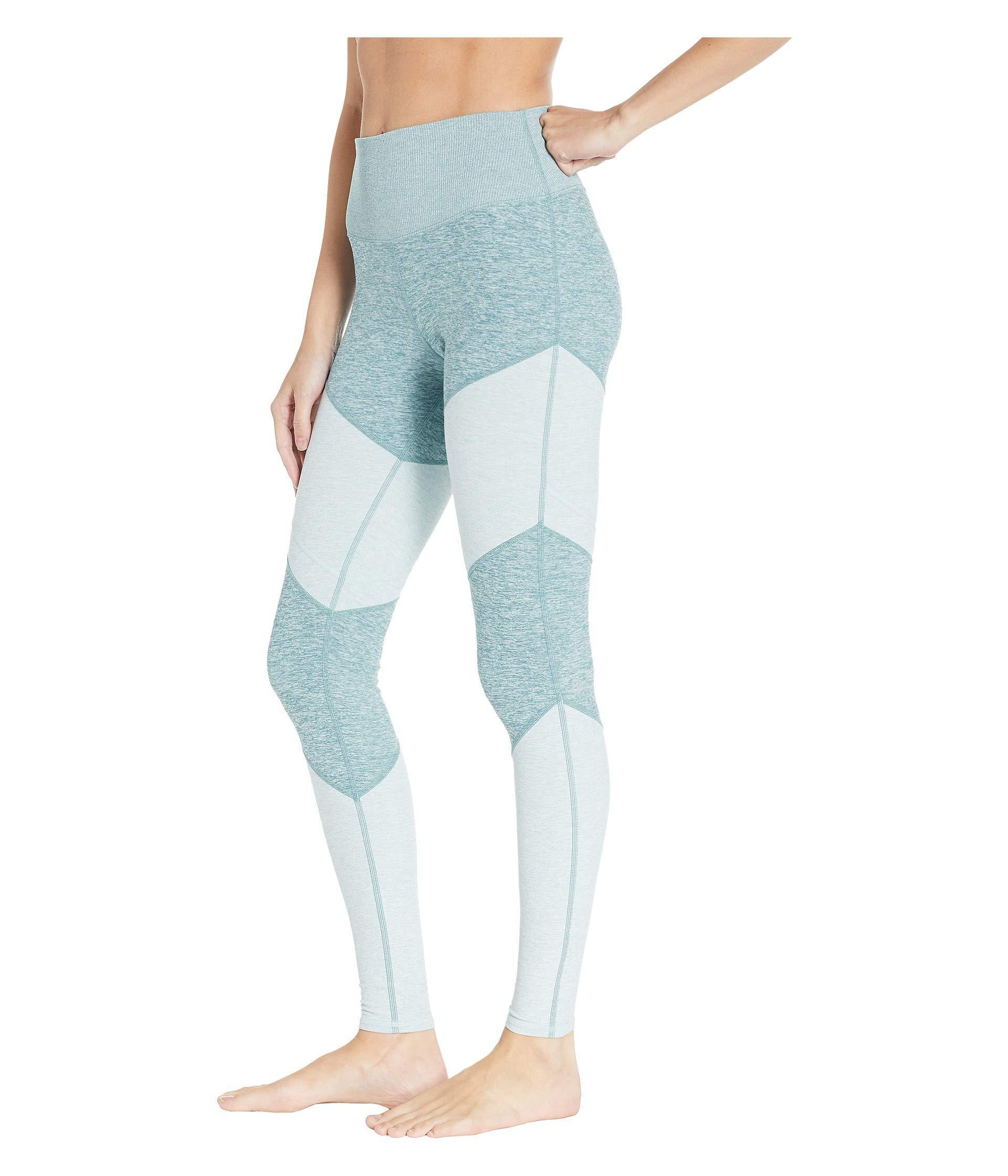 1fa9e031ff723 Alo Yoga High-waist Soft Sheila (gravel/dove/dark Heather) Women's Casual  Pants in Blue - Lyst