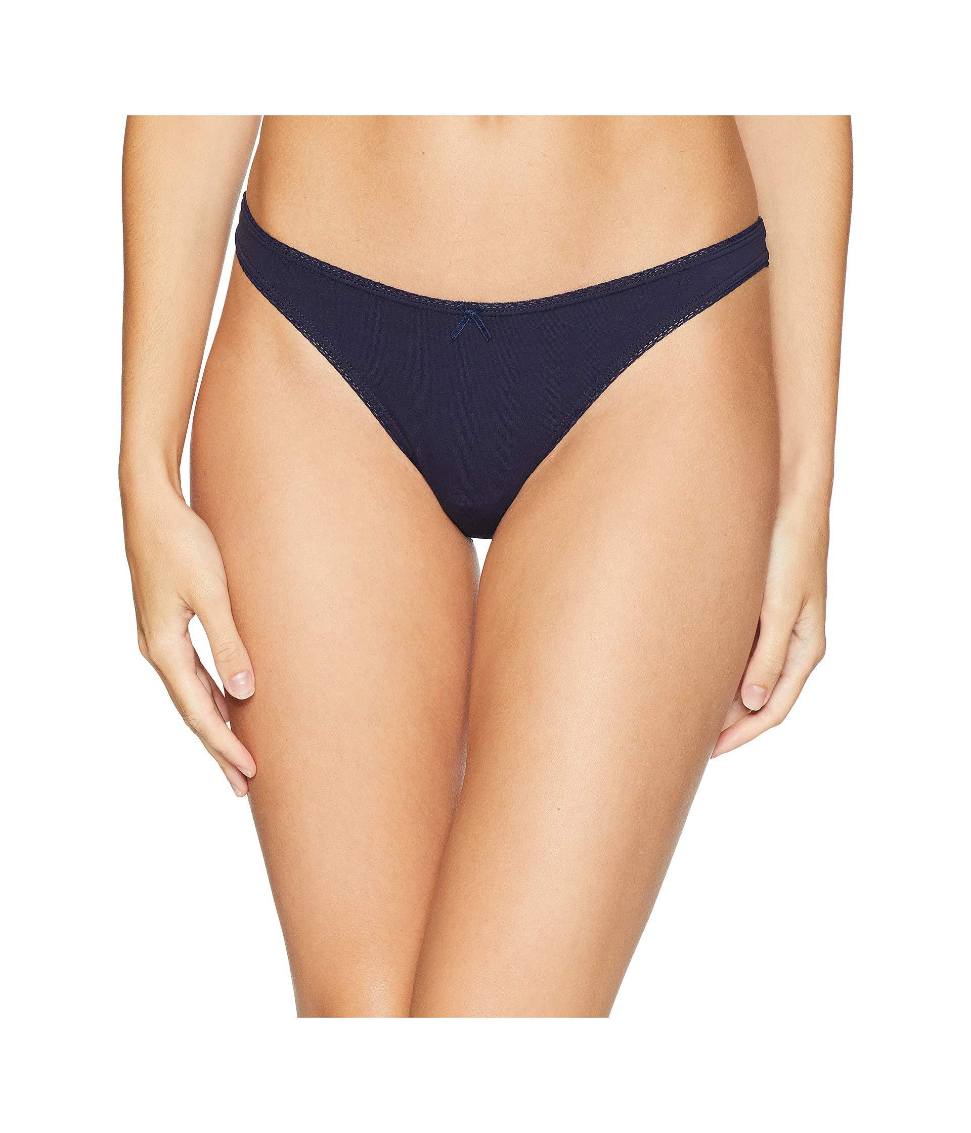 c0714bb1f480 Eberjey - Multicolor Pima Goddess Thong (buff) Women's Underwear - Lyst.  View fullscreen