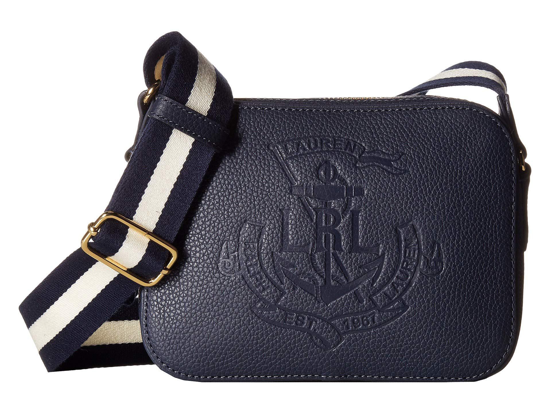 8780c9003d57 Lauren by Ralph Lauren. Women s Huntley Camera Bag (blue Mist) Handbags