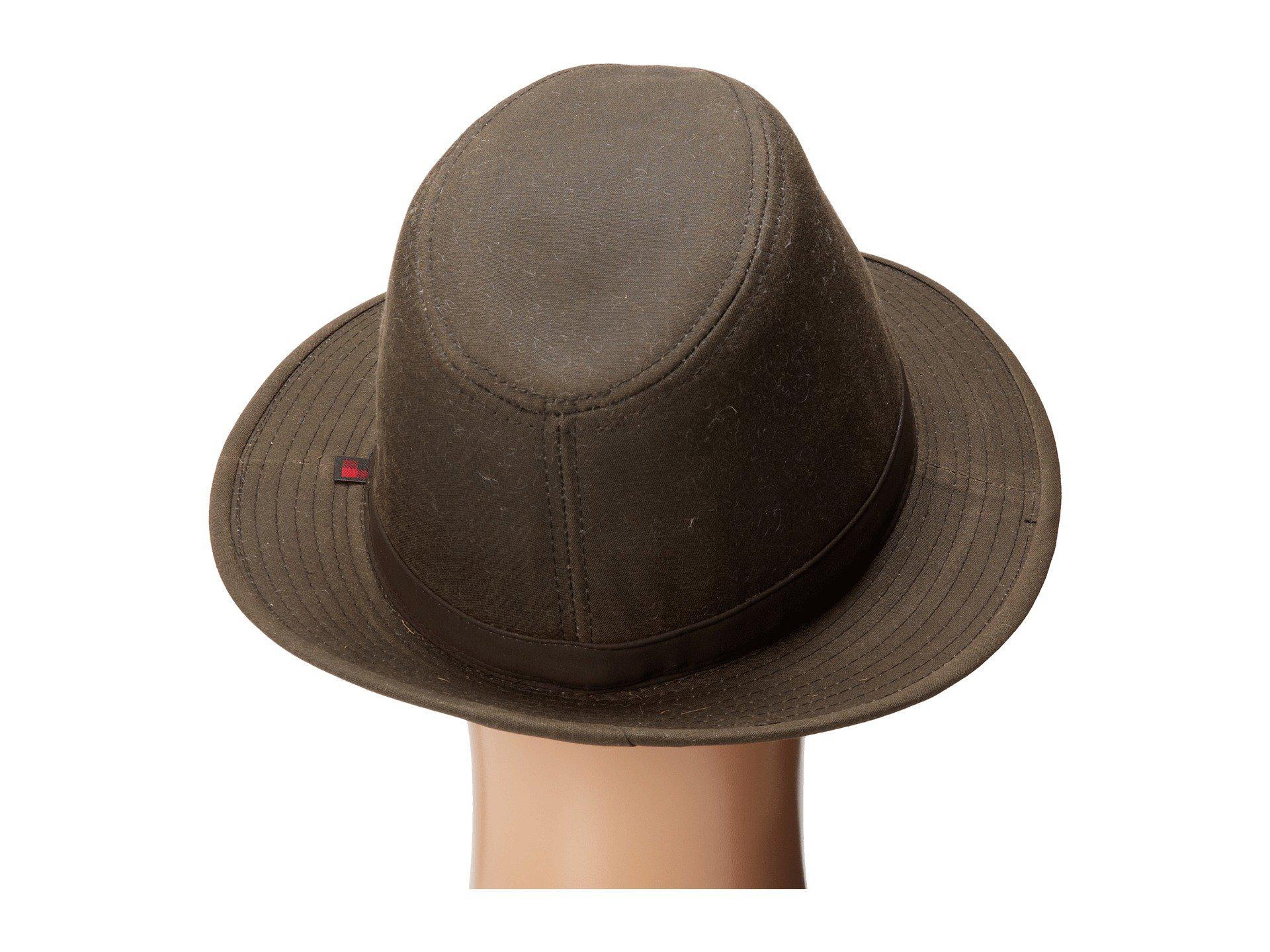 fbae959c229e9 Lyst - Woolrich Oil Cloth Safari W  Plaid Lining (brown) Caps in ...