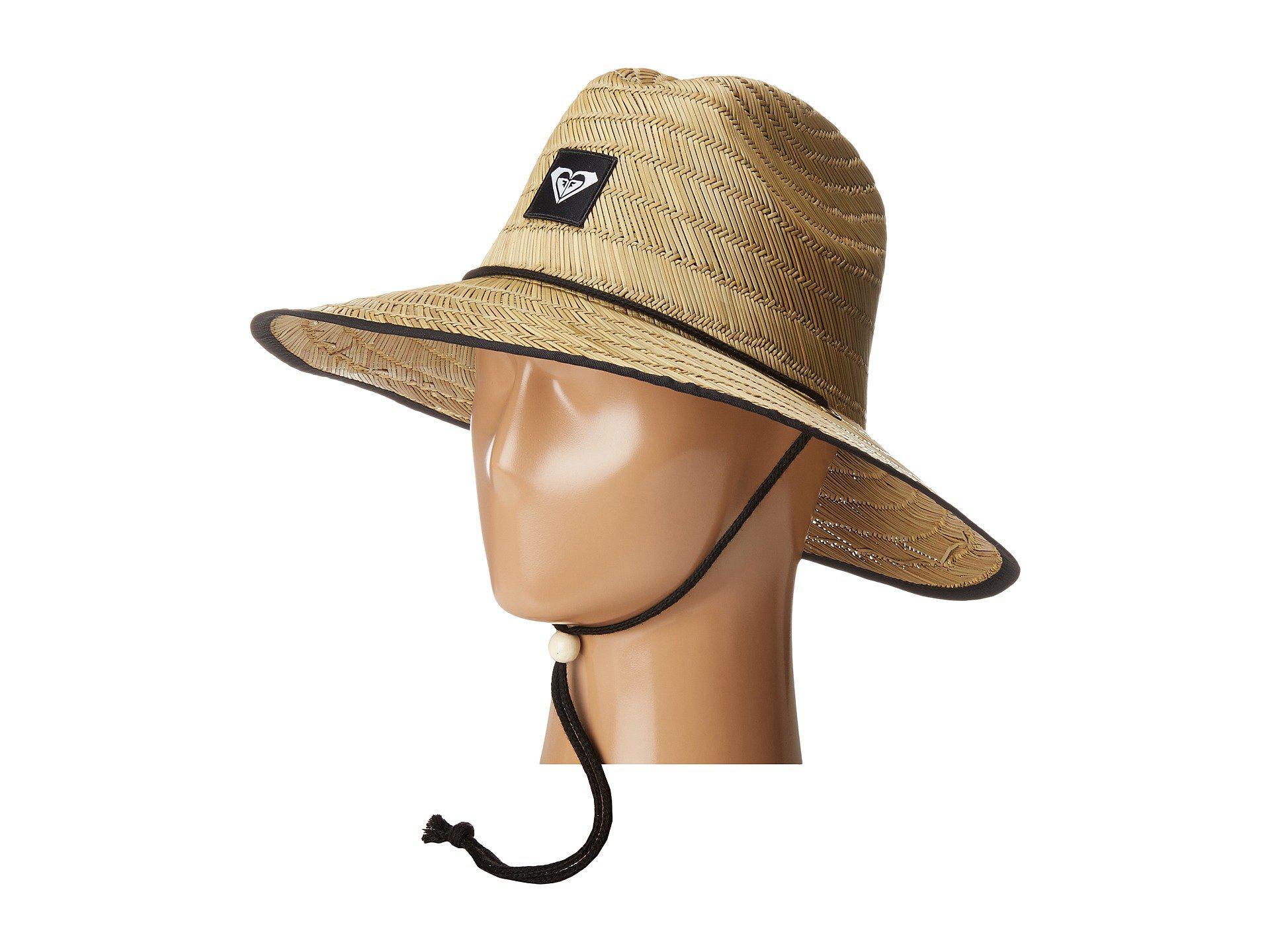 Lyst - Roxy Tomboy 2 Sun Hat (true Black) Traditional Hats b09b48fa11d