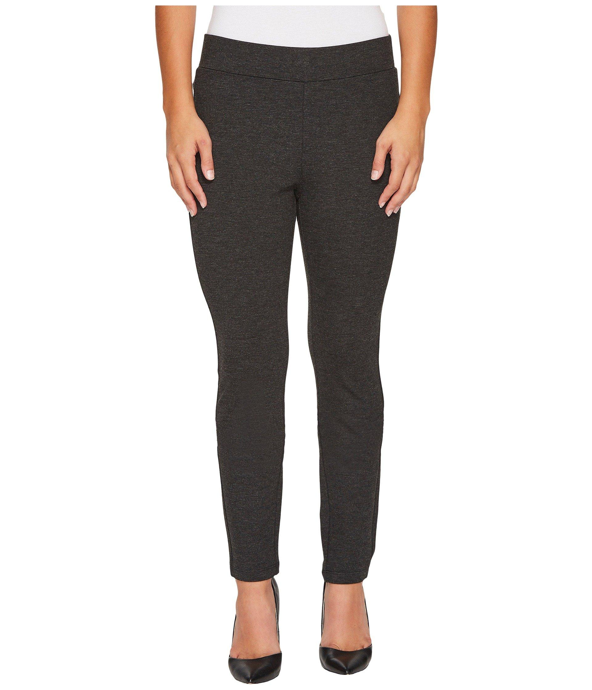3add673815b02 NYDJ. Gray Petite Basic Ponte Leggings In Charcoal (charcoal) Women's Jeans