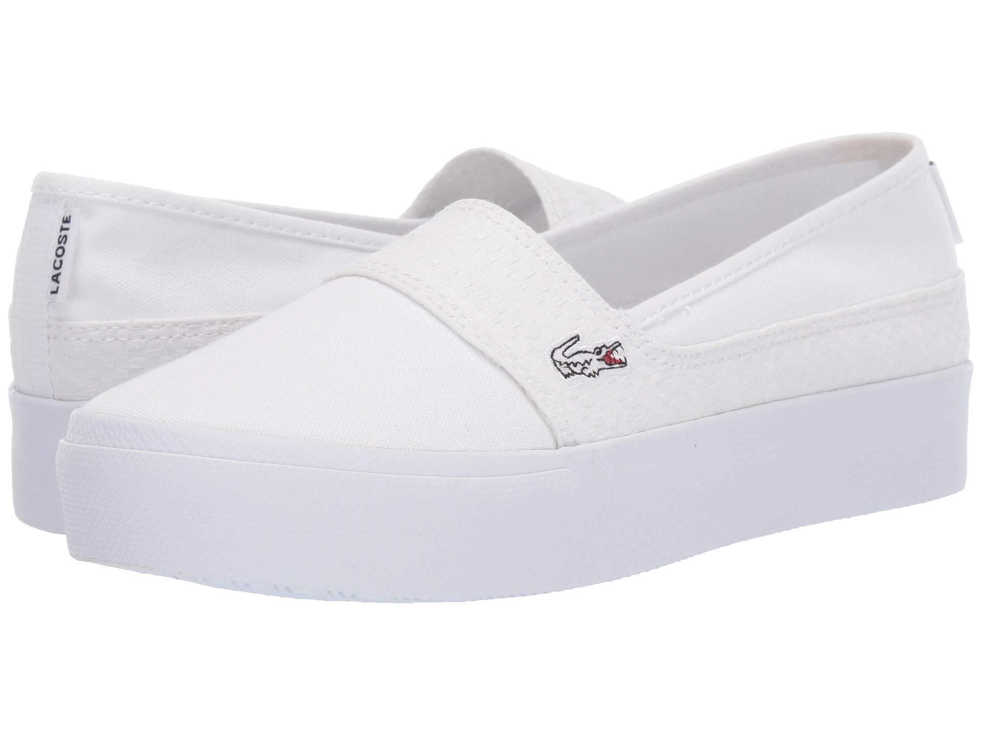 bb86a076c Lacoste - Marice Plus Grand 119 2 (navy white) Women s Shoes - Lyst. View  fullscreen
