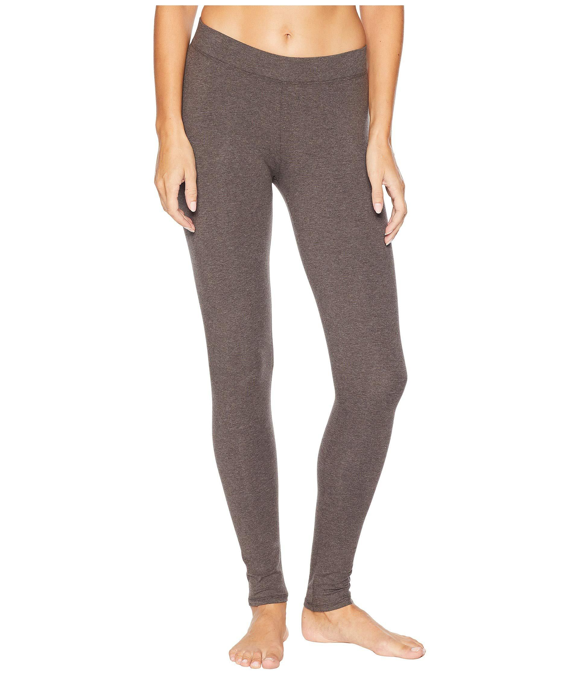3ec7865d3ab Pact. Gray Organic Cotton Long Leggings (charcoal Heather) Women s Casual  Pants
