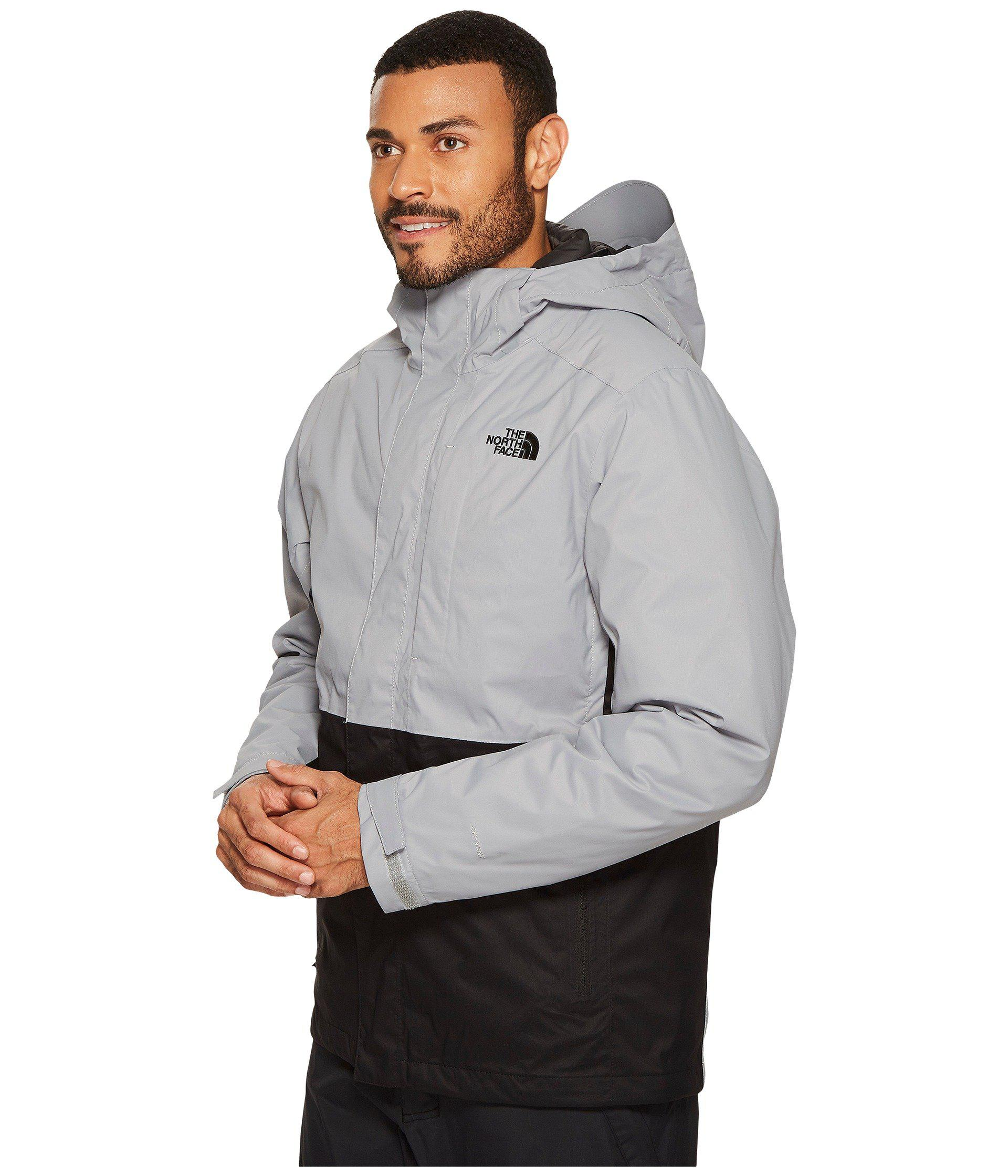 lyst the north face altier down triclimate jacket in gray for men rh lyst com