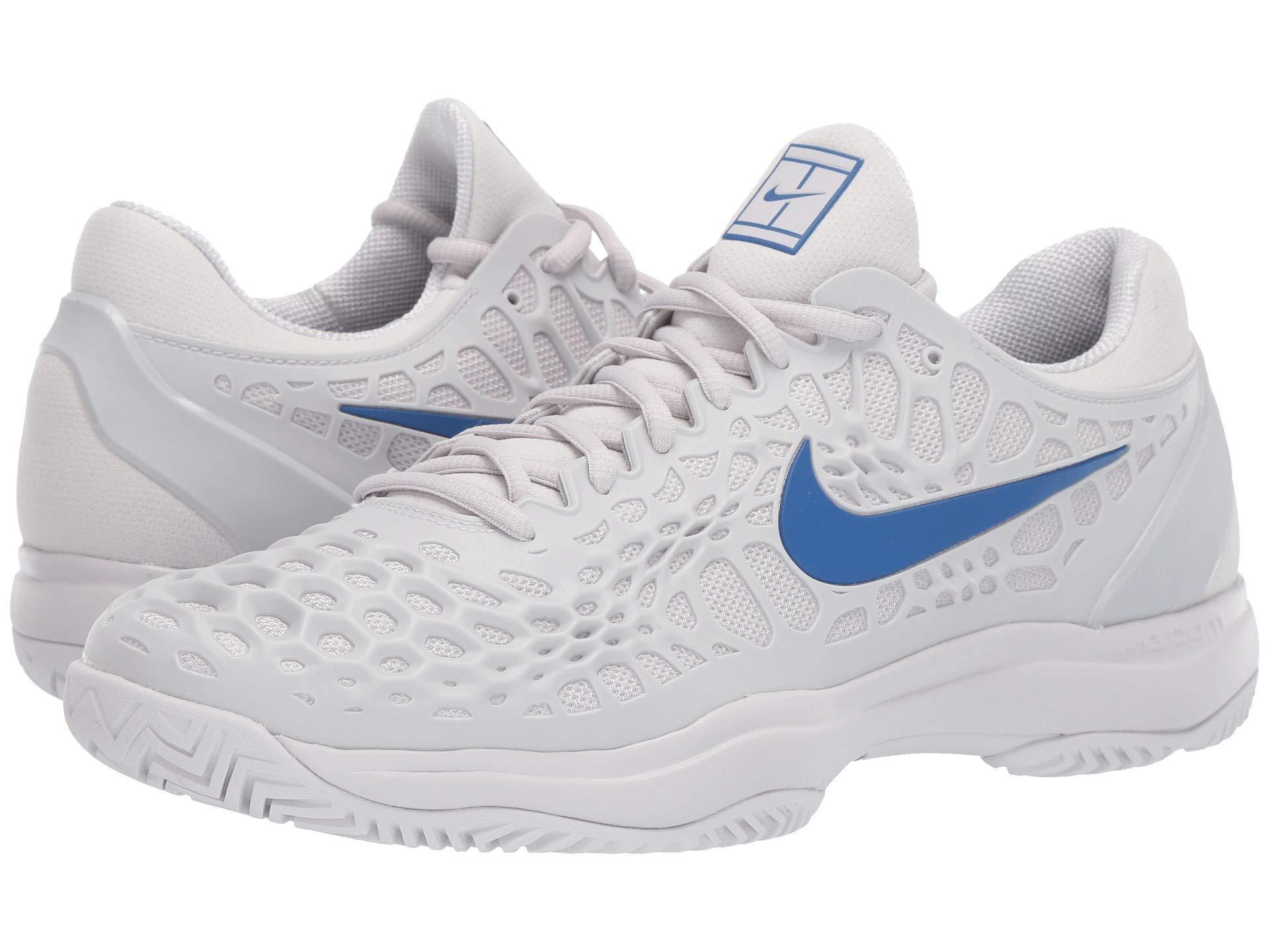 new arrival 2aacf f288b Nike. Blue Zoom Cage 3 Hc (white black bright Crimson) Men s Tennis Shoes