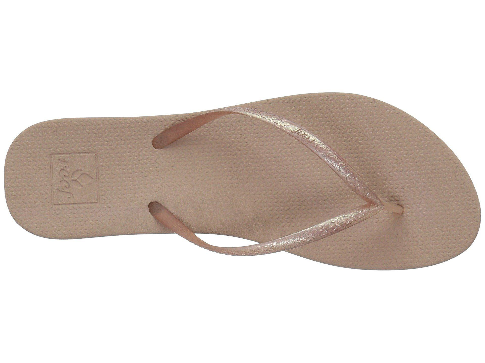 f7ccfe750240 Lyst - Reef Escape Lux Metals (copper) Women s Sandals