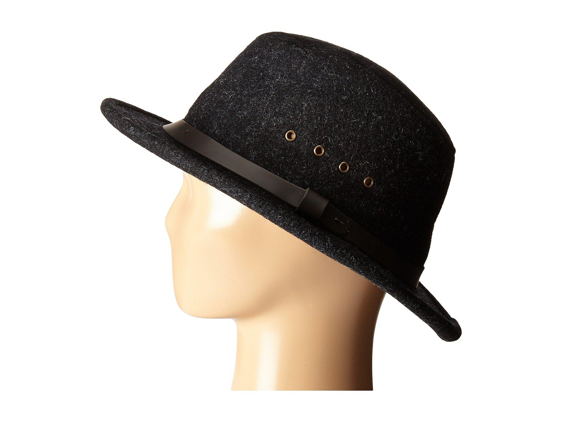 Lyst - Filson Wool Packer Hat in Black 6ff33d783