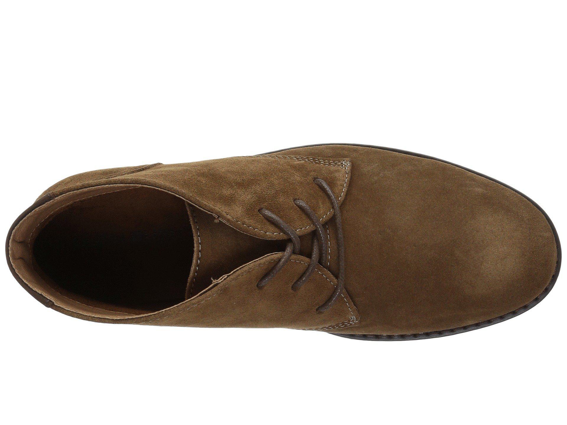f50027e788cfd0 Nunn Bush - Brown Lancaster Plain Toe Chukka Boot (black Leather) Men s  Lace-. View fullscreen