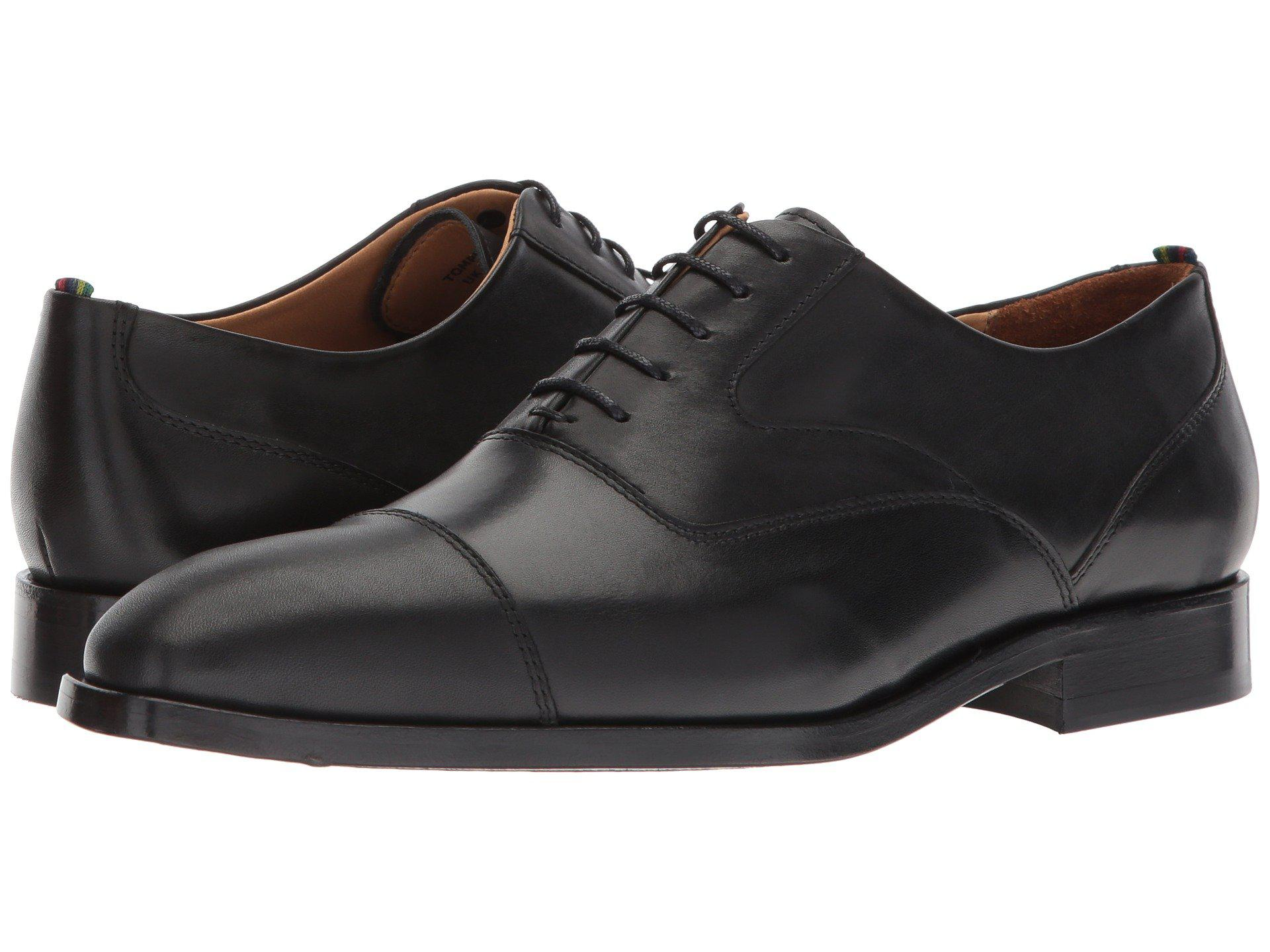 Paul Smith Men's Tompkins Leather Toe Cap Oxford Shoes - - UK 10 CGQNbKz