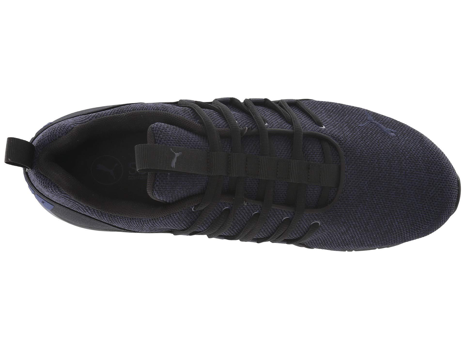 0dce47bcac4d ... cheap for sale e0bd4 fae1b PUMA - Axelion ( Black peacoat) Men s Shoes  for ...
