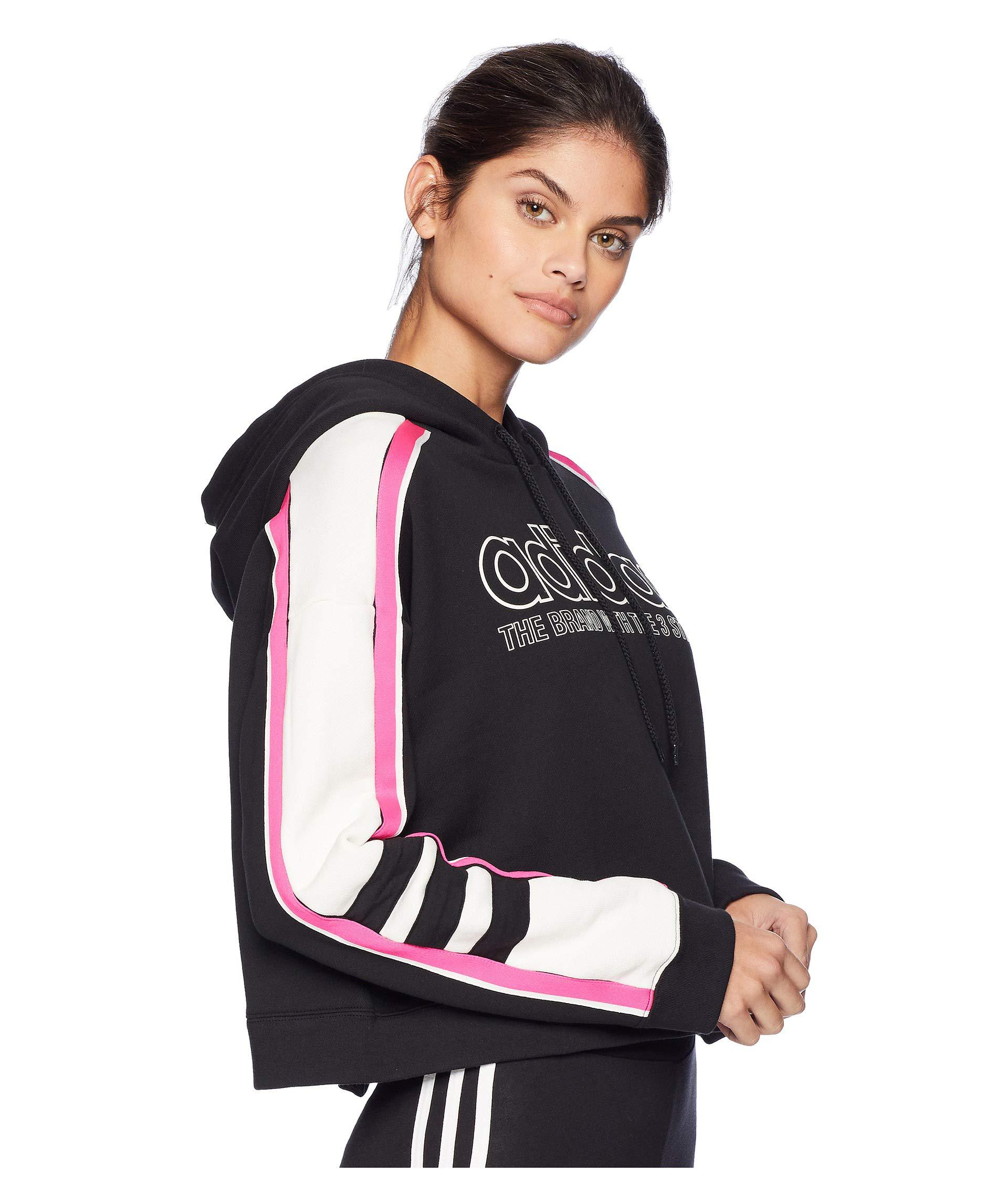 e72332cf7ae7 Lyst - adidas Originals Racing Aa-43 Cropped Hooded Sweatshirt ...