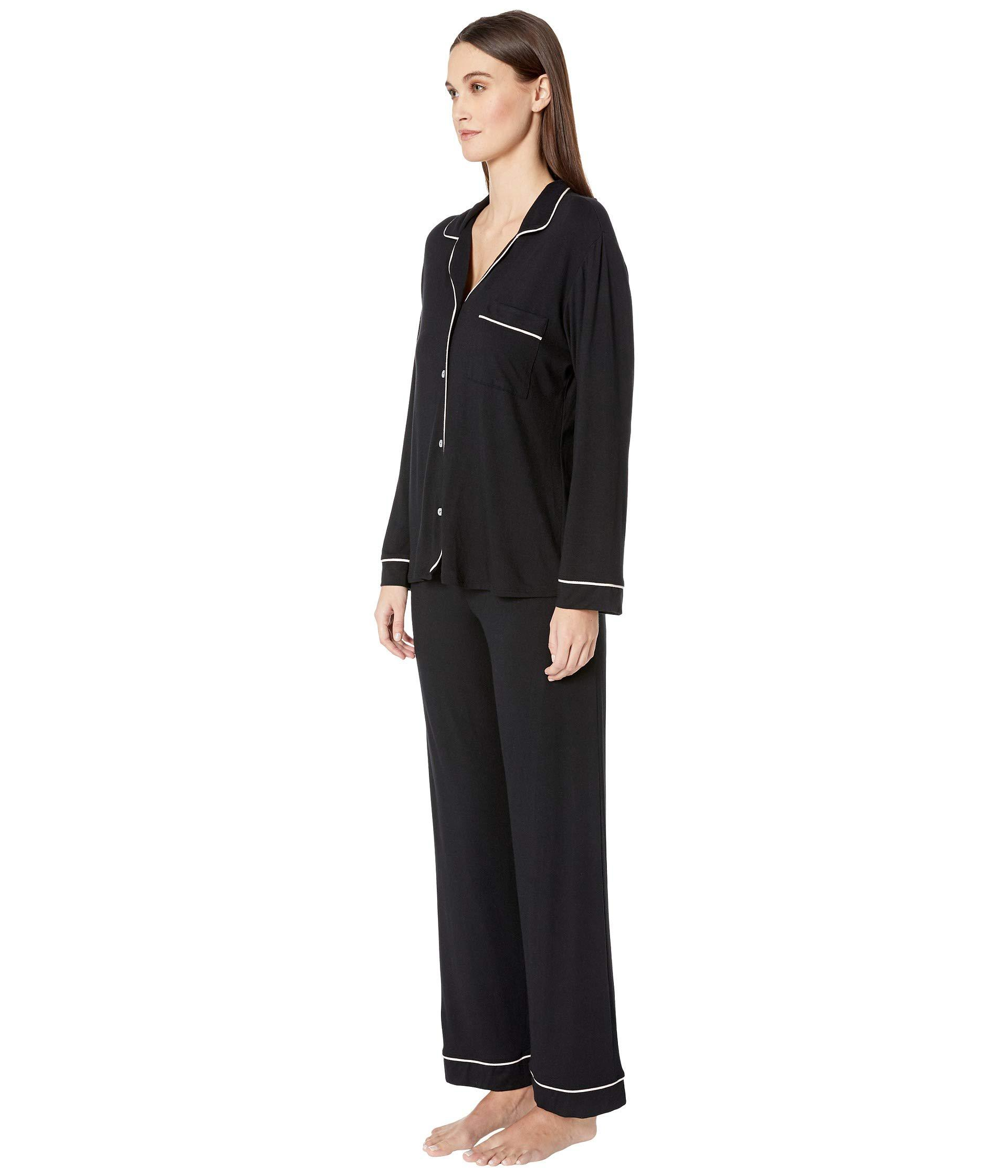 f87f66918 Lyst - Eberjey Gisele - Pj Set (water Blue) Women s Pajama Sets in Black