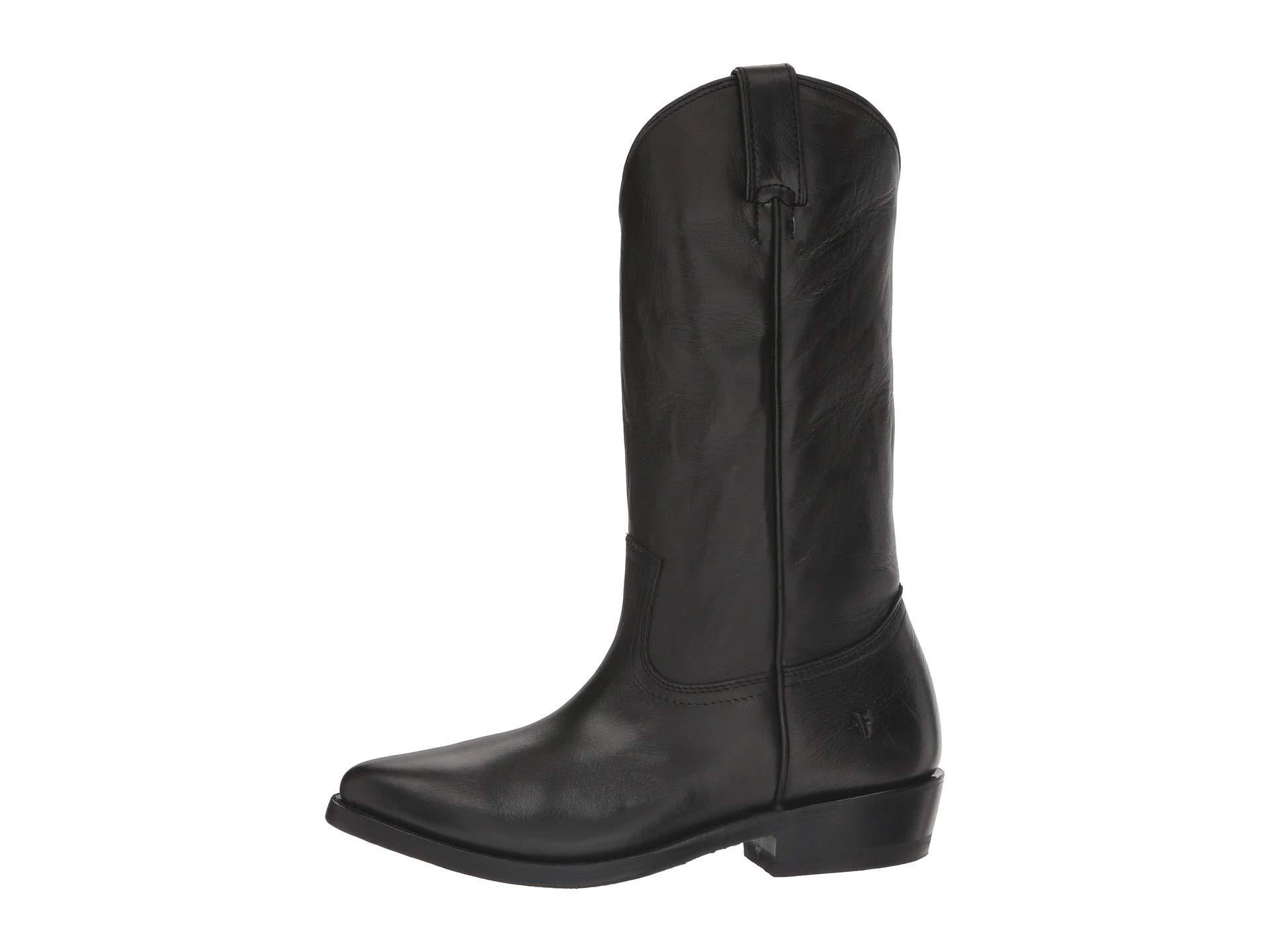 c10d980283e Lyst - Frye Billy Pull-on (smoke) Women's Boots in Black