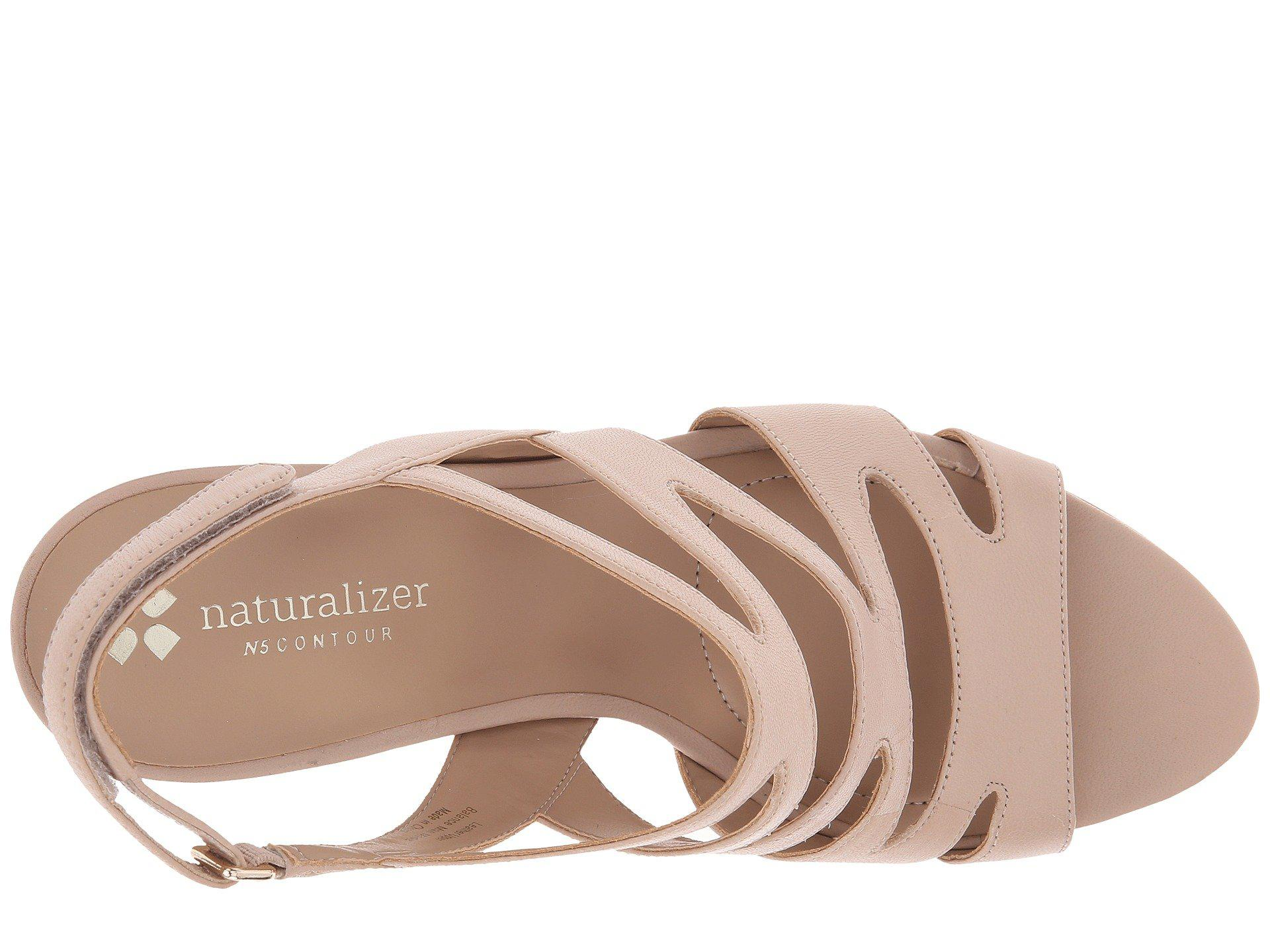 d26f3ff9503 Naturalizer - Brown Pressley (taupe Leather) High Heels - Lyst. View  fullscreen