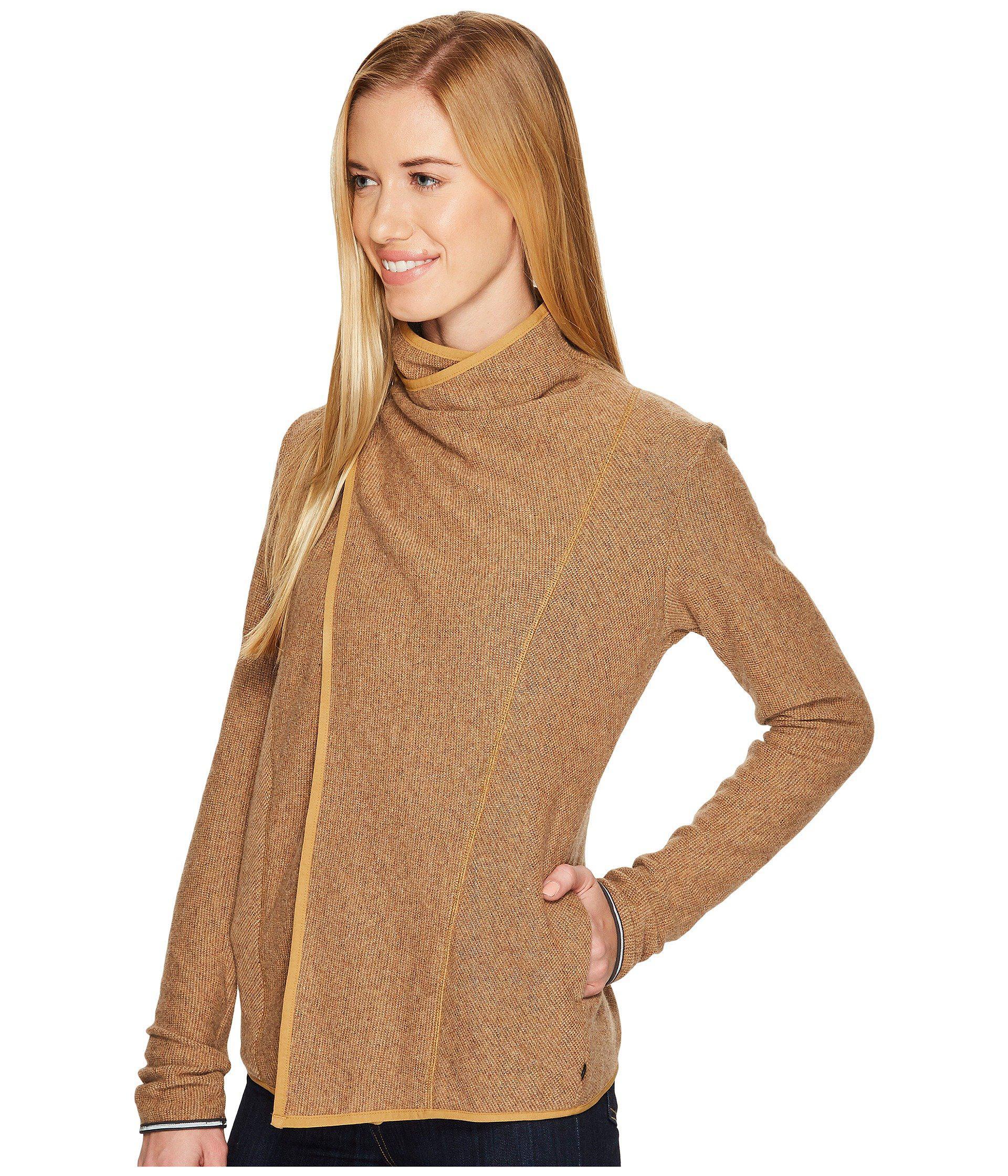 Lyst Mountain Hardwear Sarafin Wrap Sweater In Brown