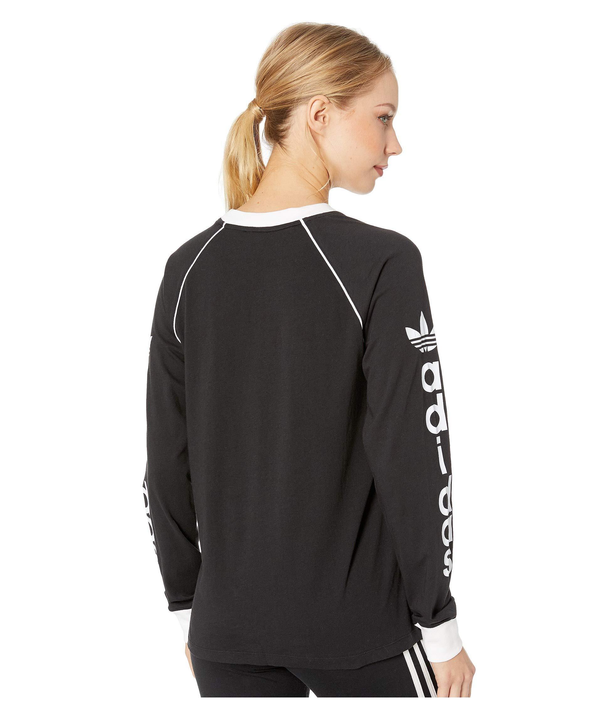 5ea6411bd11 adidas Originals Og Long Sleeve (base Green) Women's Long Sleeve ...