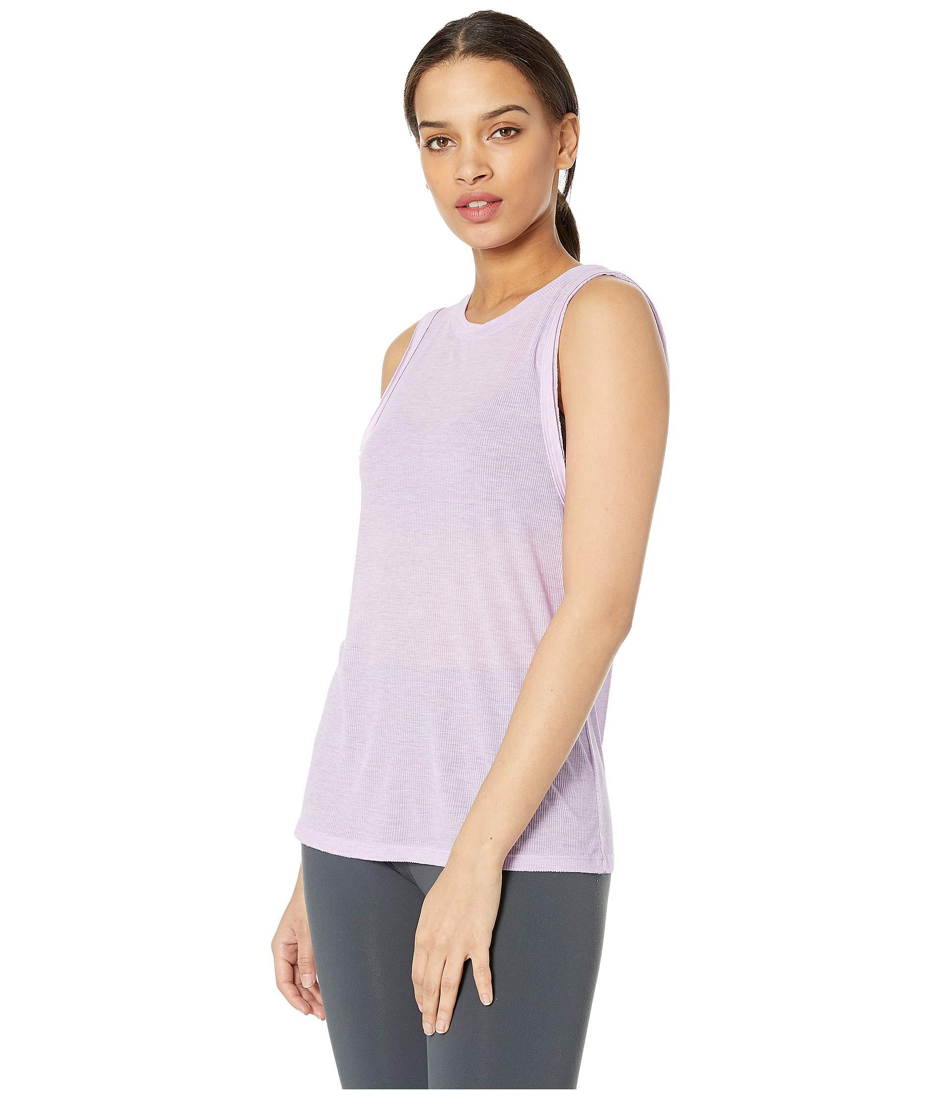 eebd9f35a932f Lyst - Free People Om Tank Top (black) Women s Clothing in Purple