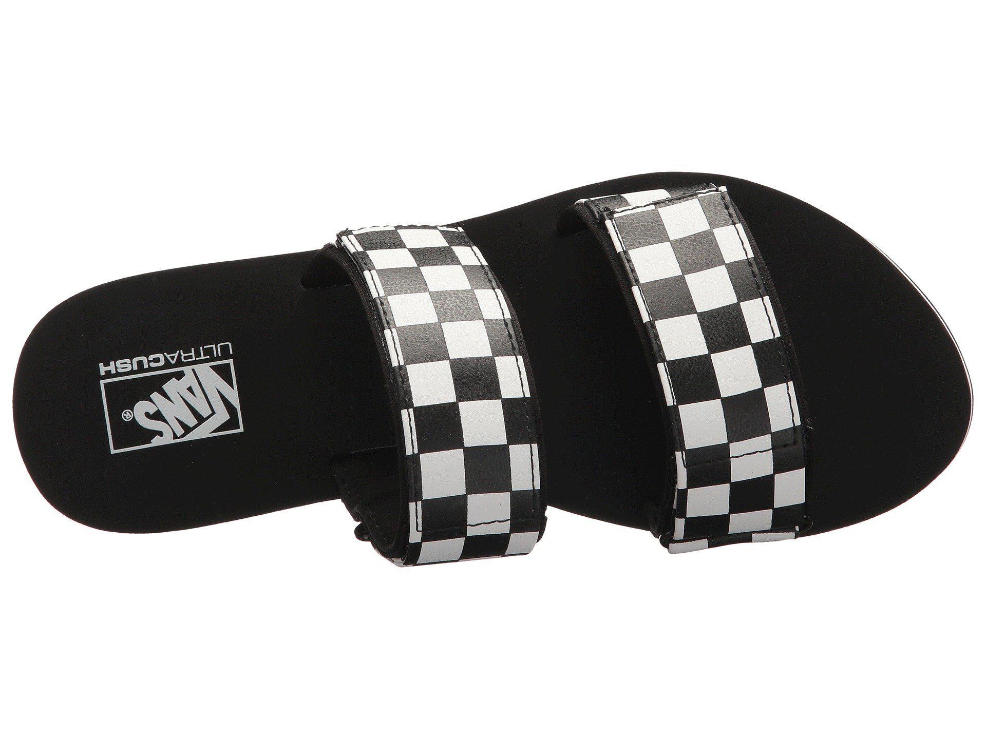 5861a82f0d254c Lyst - Vans Cayucas Slide in Black