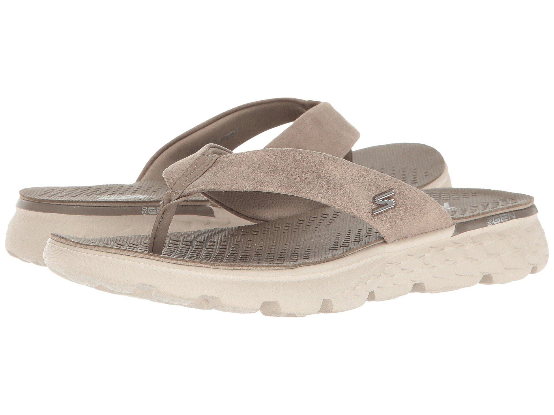 0bd27f32a0a6 Lyst - Skechers On-the-go 400 - Essence (taupe) Women s Sandals