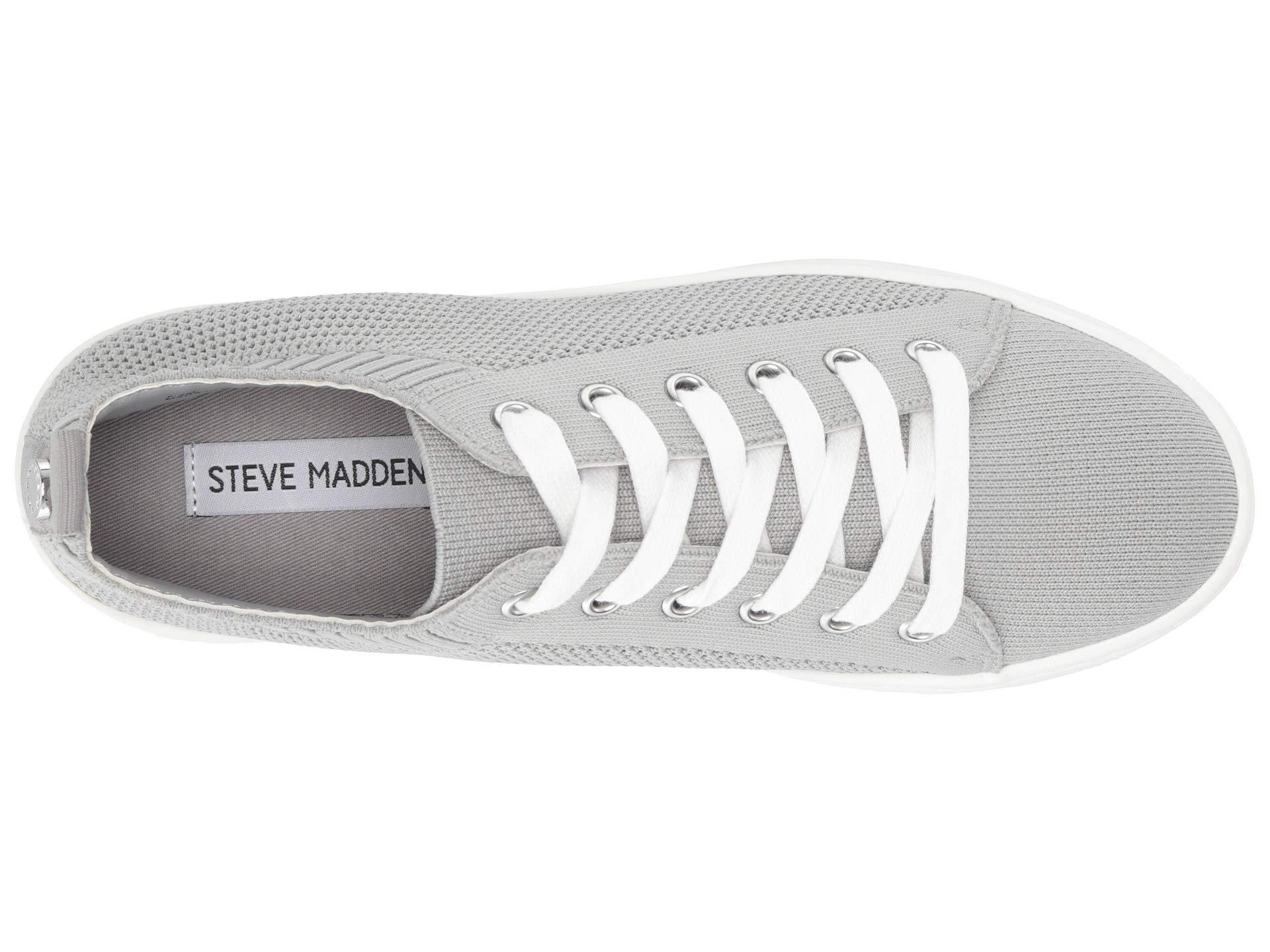 6b51b75e47f Steve Madden - Gray Bardo Sneaker - Lyst. View fullscreen