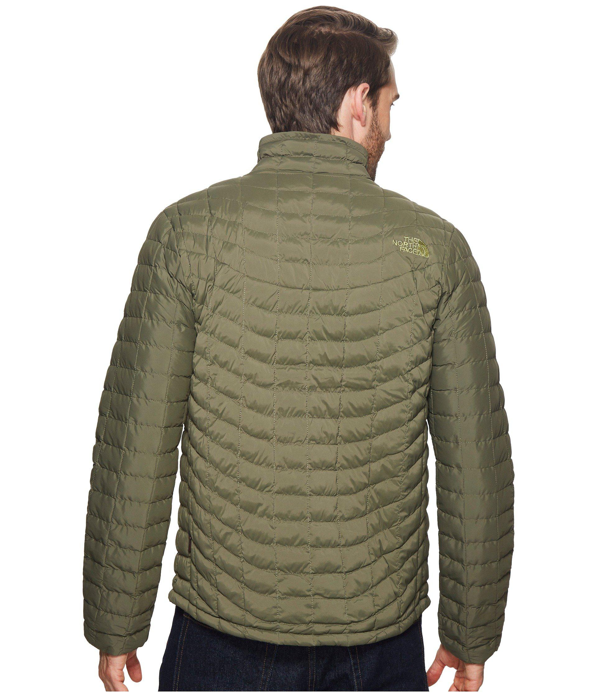 1fd14baad620 Lyst - The North Face Stretch Thermoball Full Zip in Green for Men