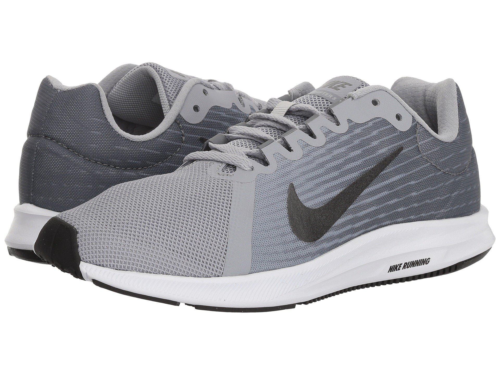 2d8e18163e0fc Nike. Gray Downshifter 8 (wolf Grey metallic Dark Grey cool Grey black) Men s  Running Shoes