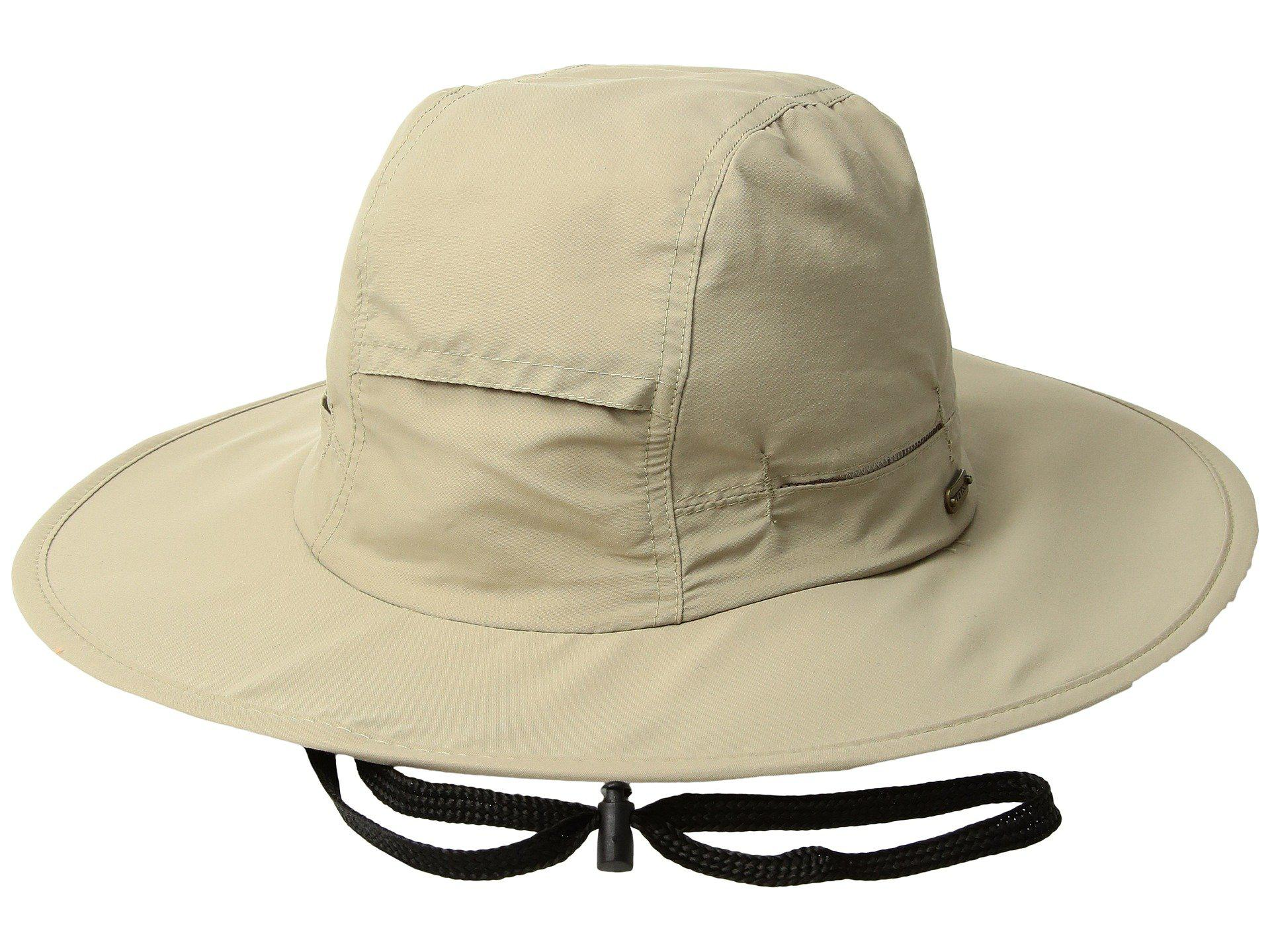 acf2370570e Lyst - Stetson No Fly Zone Big Brim With Camo Under Brim (khaki ...