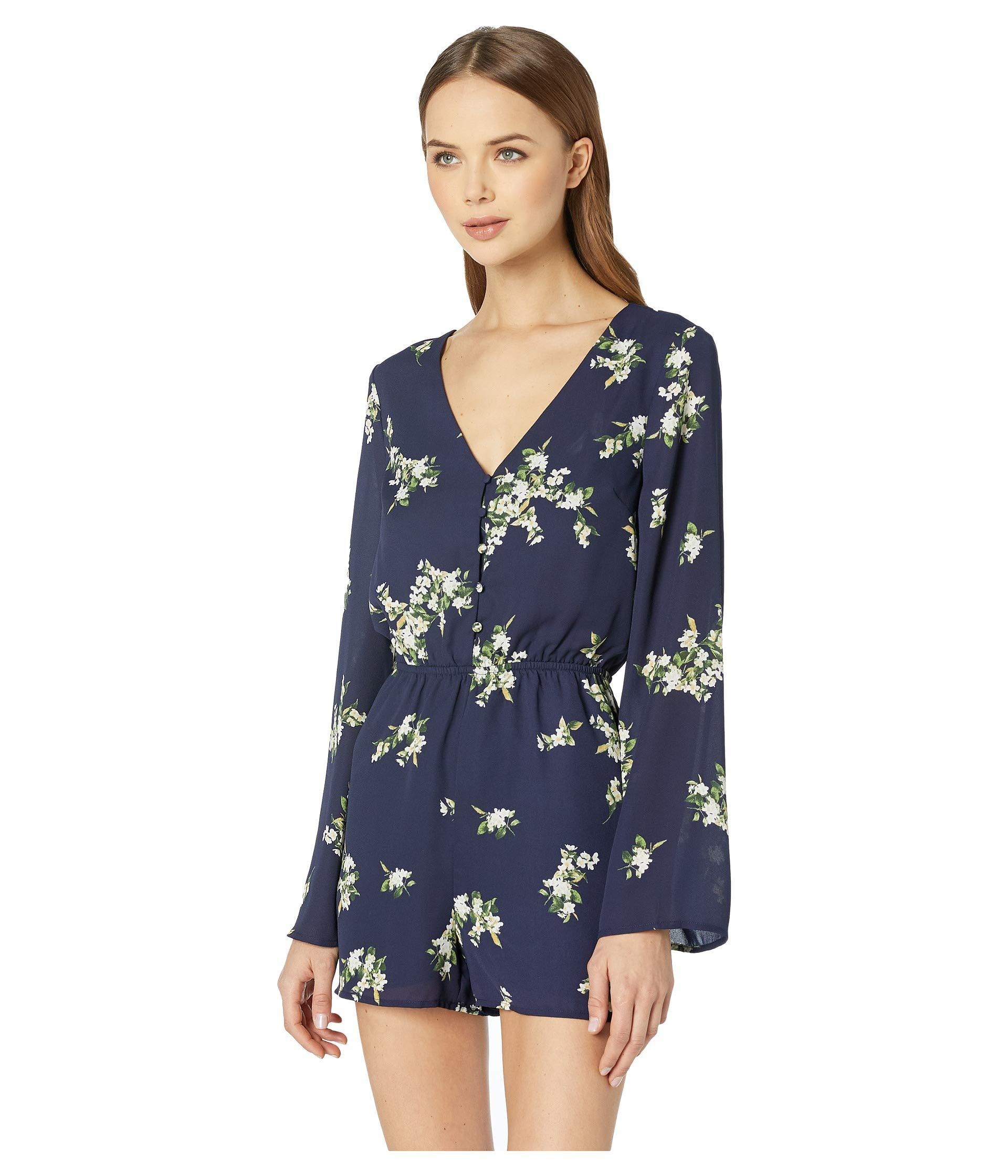 ae73fa6e5969 Lyst - Cupcakes And Cashmere Dorene Romper in Blue