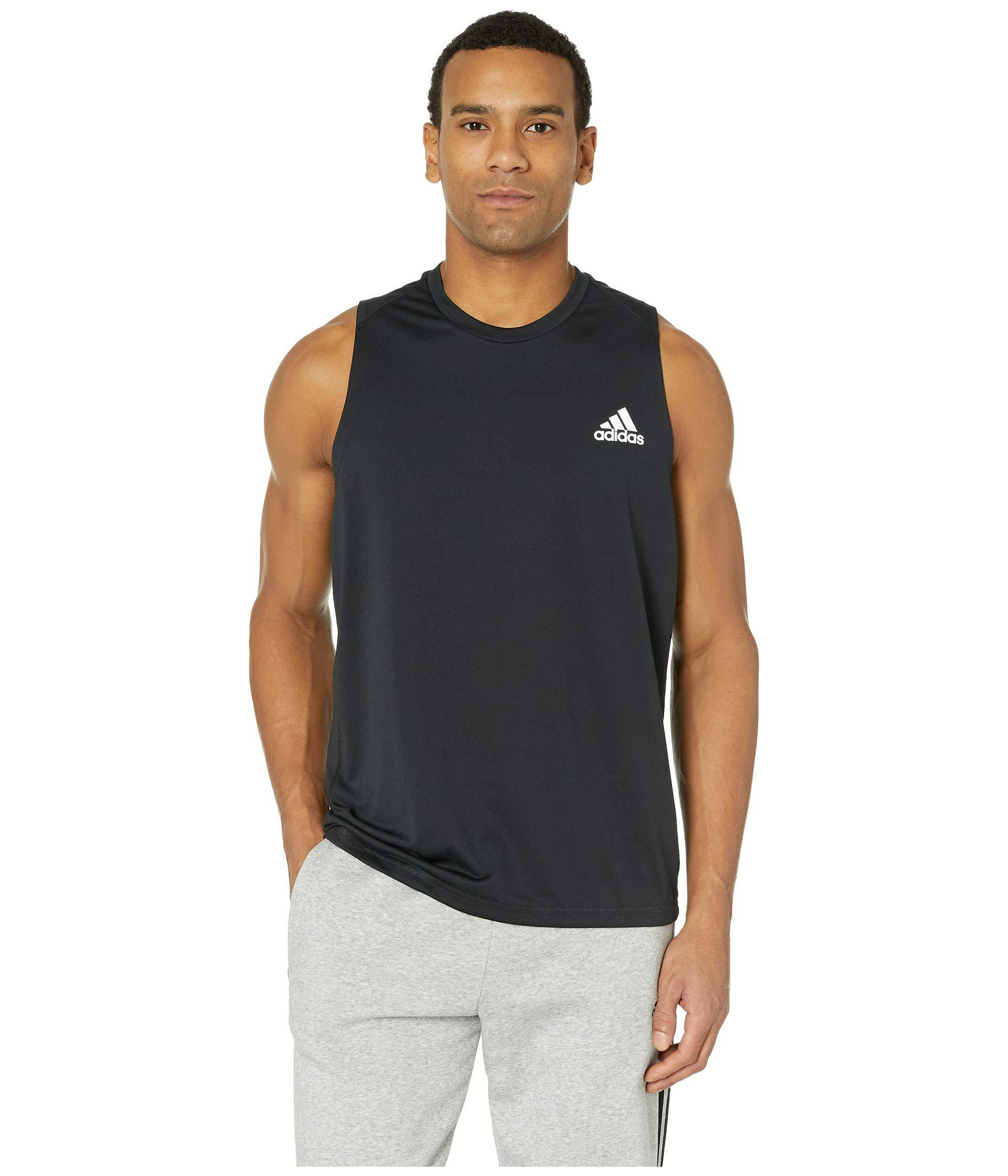 12bdf9f89 Mens Adidas Sleeveless T Shirts - DREAMWORKS