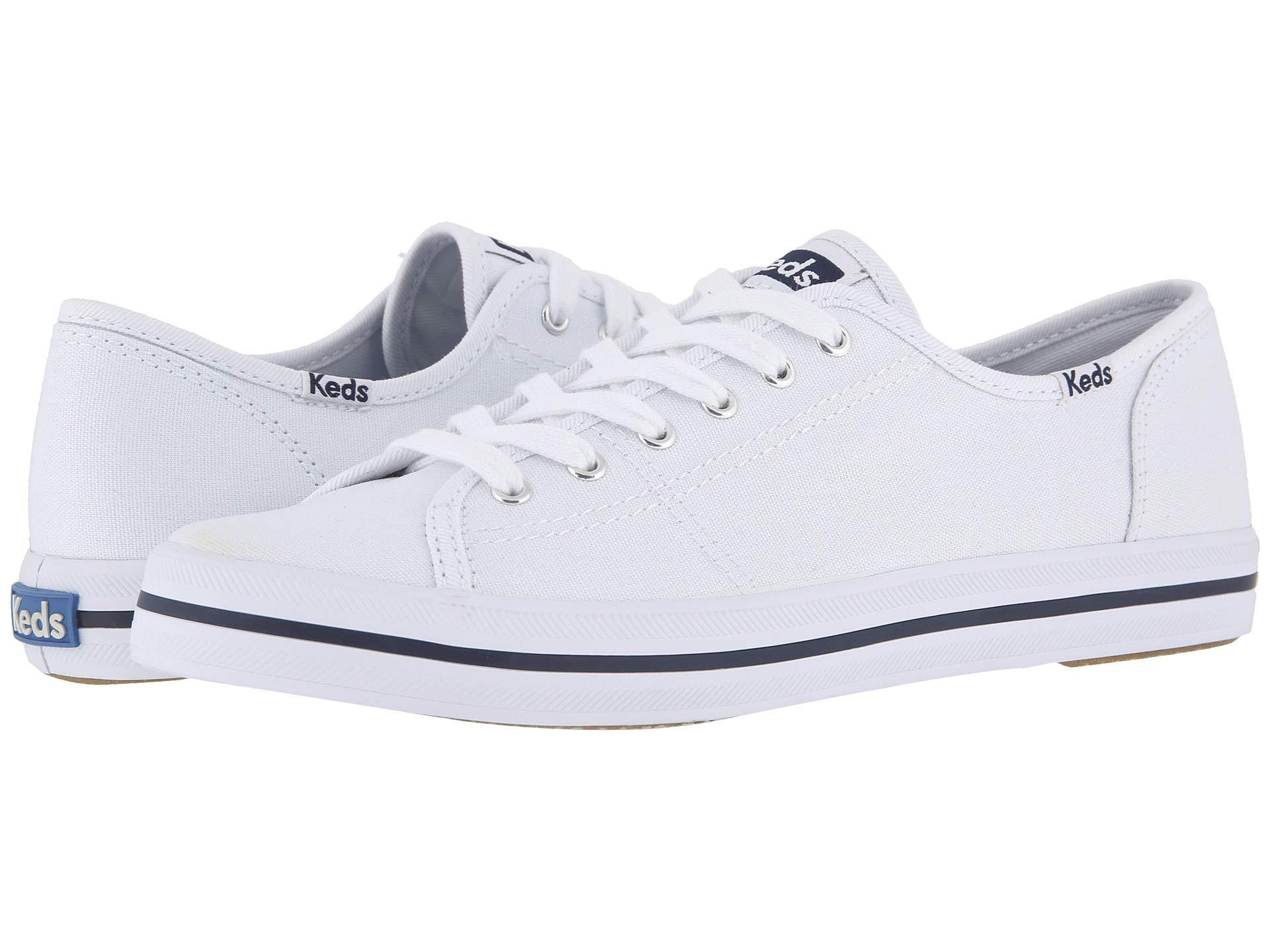 Keds - White Kickstart (navy) Women s Lace Up Casual Shoes - Lyst. View  fullscreen 39739369a
