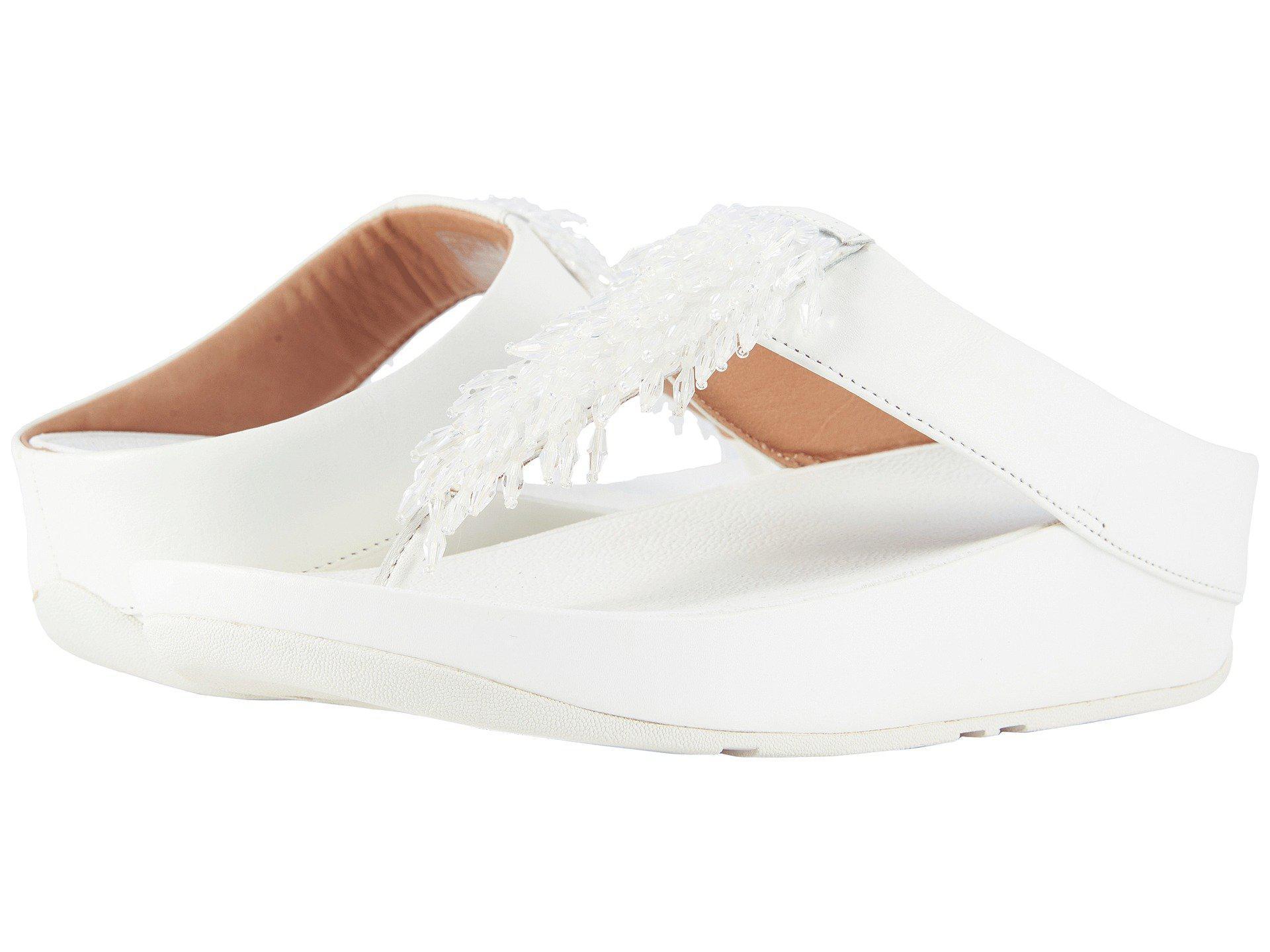 cdbca6d9a1c687 Lyst - Fitflop Rumba Toe Thong Sandals (metallic Gold) Women s ...