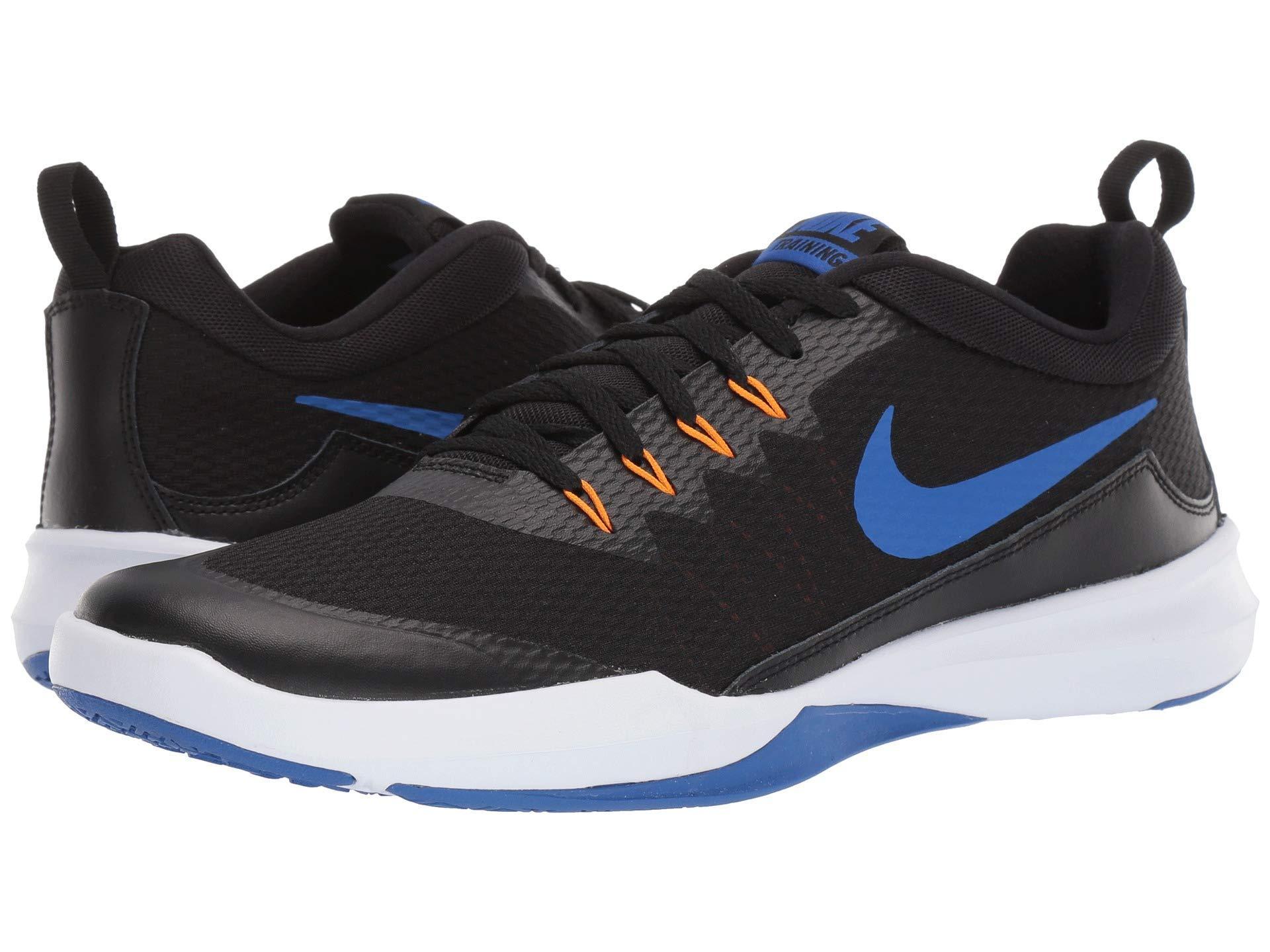 buy popular 6601b 65628 Nike - Legend Trainer (black/metallic Silver/white) Men's Cross Training  Shoes. View fullscreen