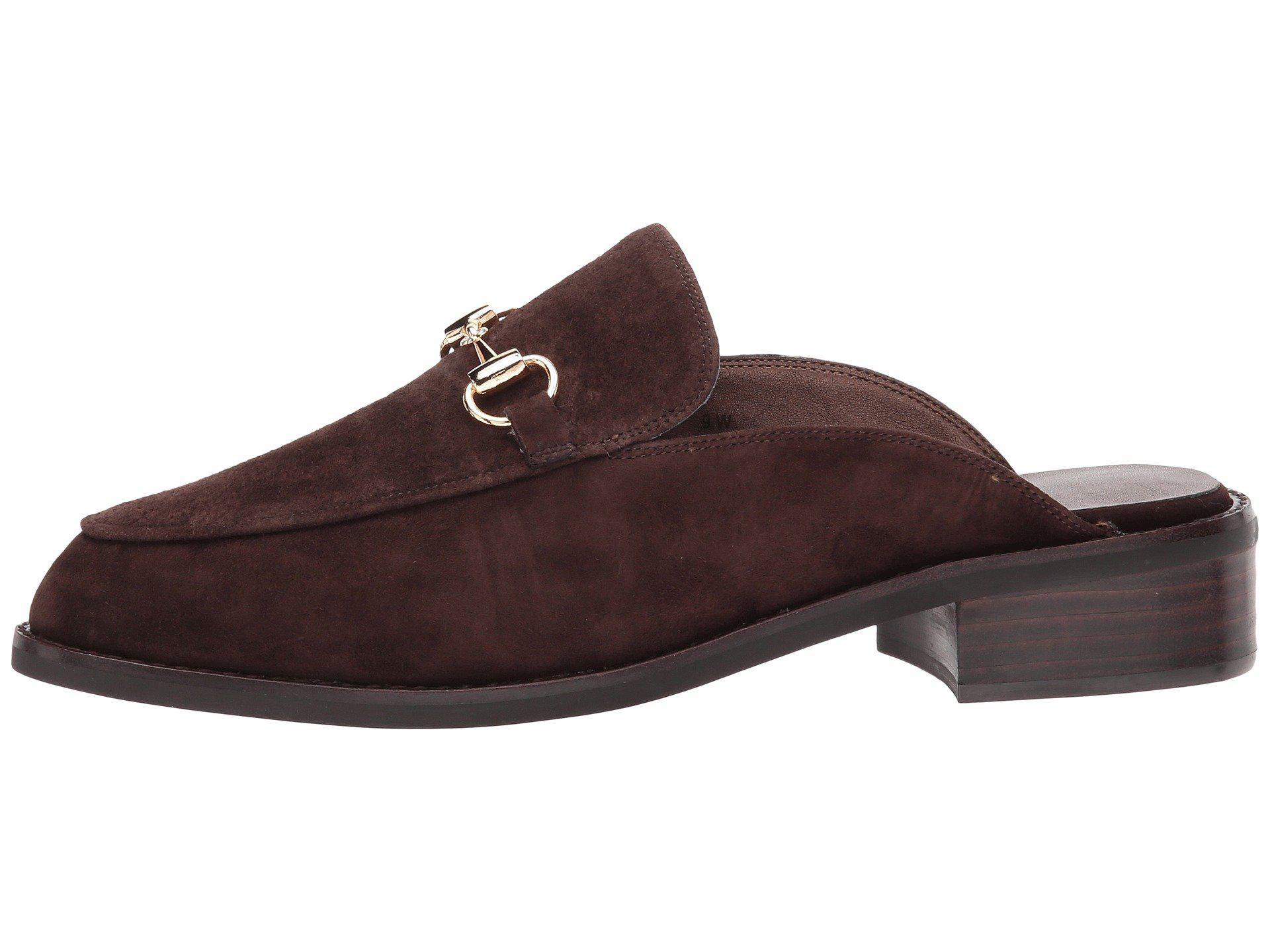 Vaneli Akela Tmoro Suede Gold Trim Women S Slip On Shoes