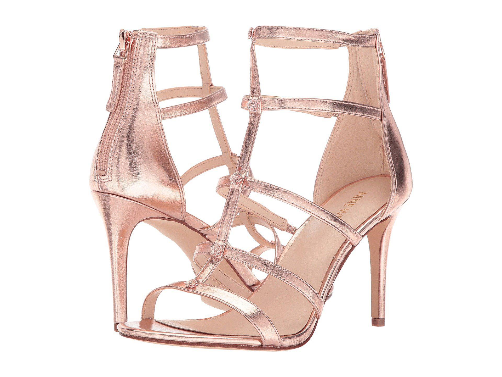 Nine WestNayler Strappy Heel Sandal csGCm