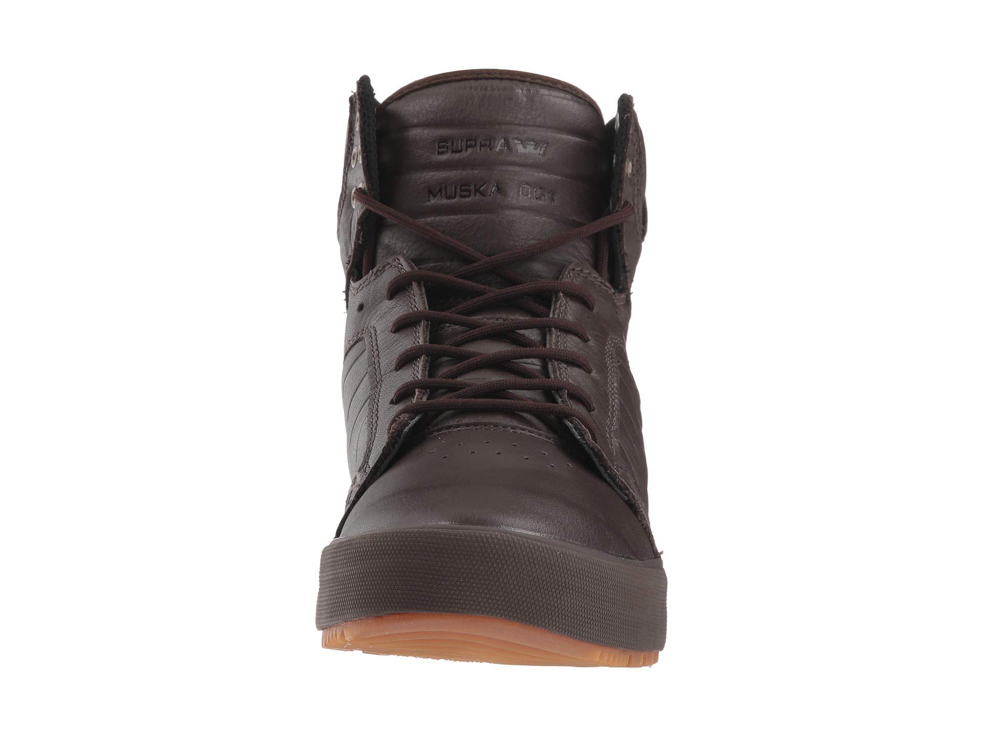 ab64282dd6e Supra Skytop Cw Winter (black/black/gum) Men's Shoes in Black for ...