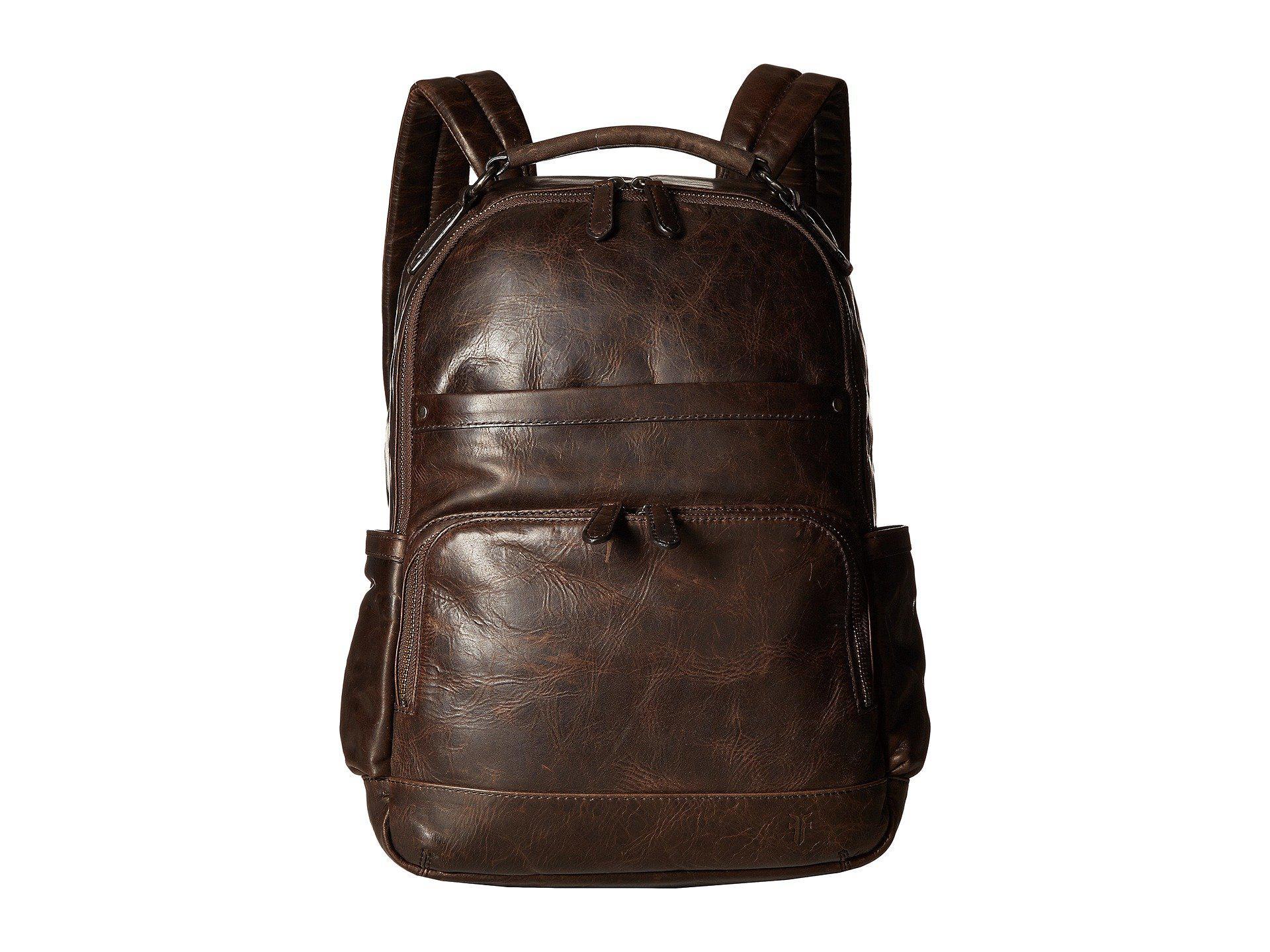 6f033752b64f Frye - Brown Logan Backpack (slate) Backpack Bags for Men - Lyst. View  fullscreen