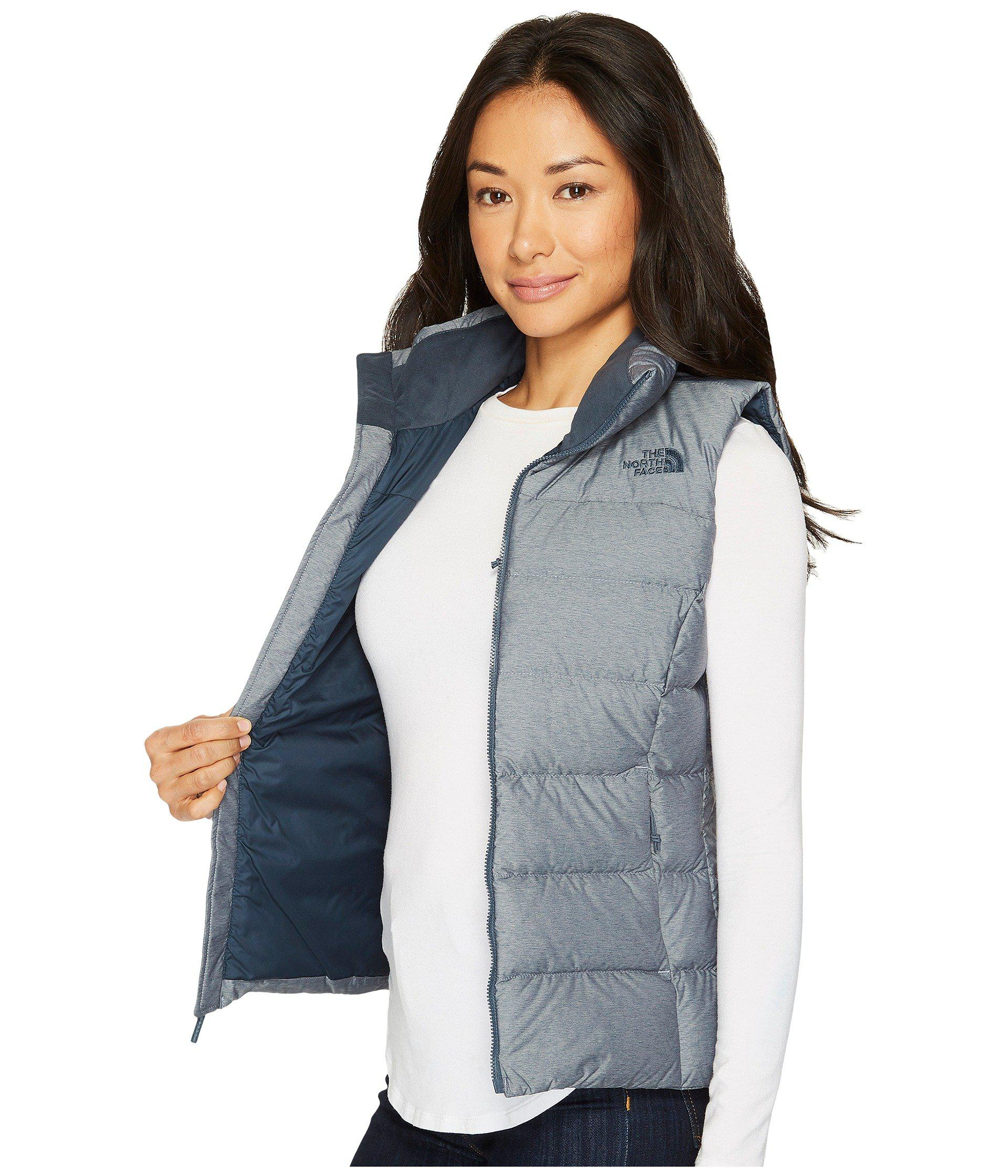 0f2bd9a9ad The North Face - Blue Nuptse Vest (tnf Black (prior Season)) Women s. View  fullscreen