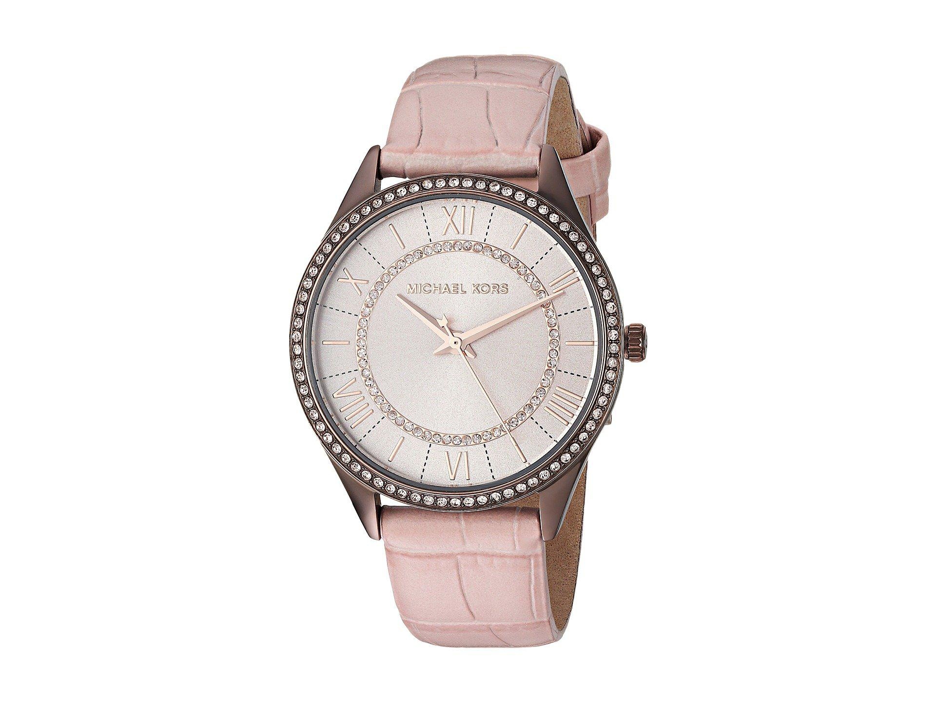 cb870c336b12 Michael Kors Mk2722 - Lauryn (pink) Watches in Pink - Lyst