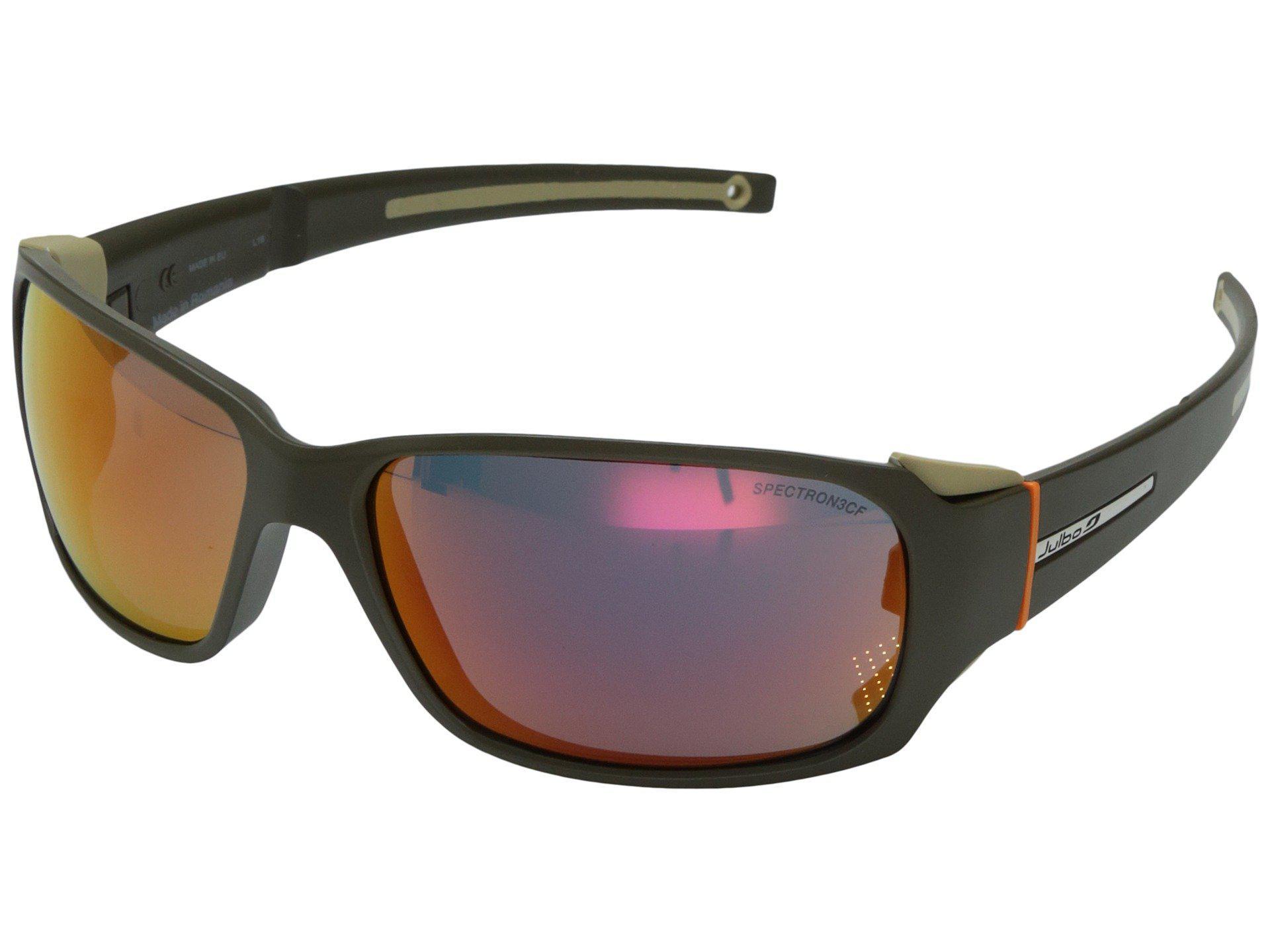36c4332670 Julbo Eyewear. Men s Montebianco Sunglasses (matt Black lime With Spectron  4 Lenses) Sport Sunglasses