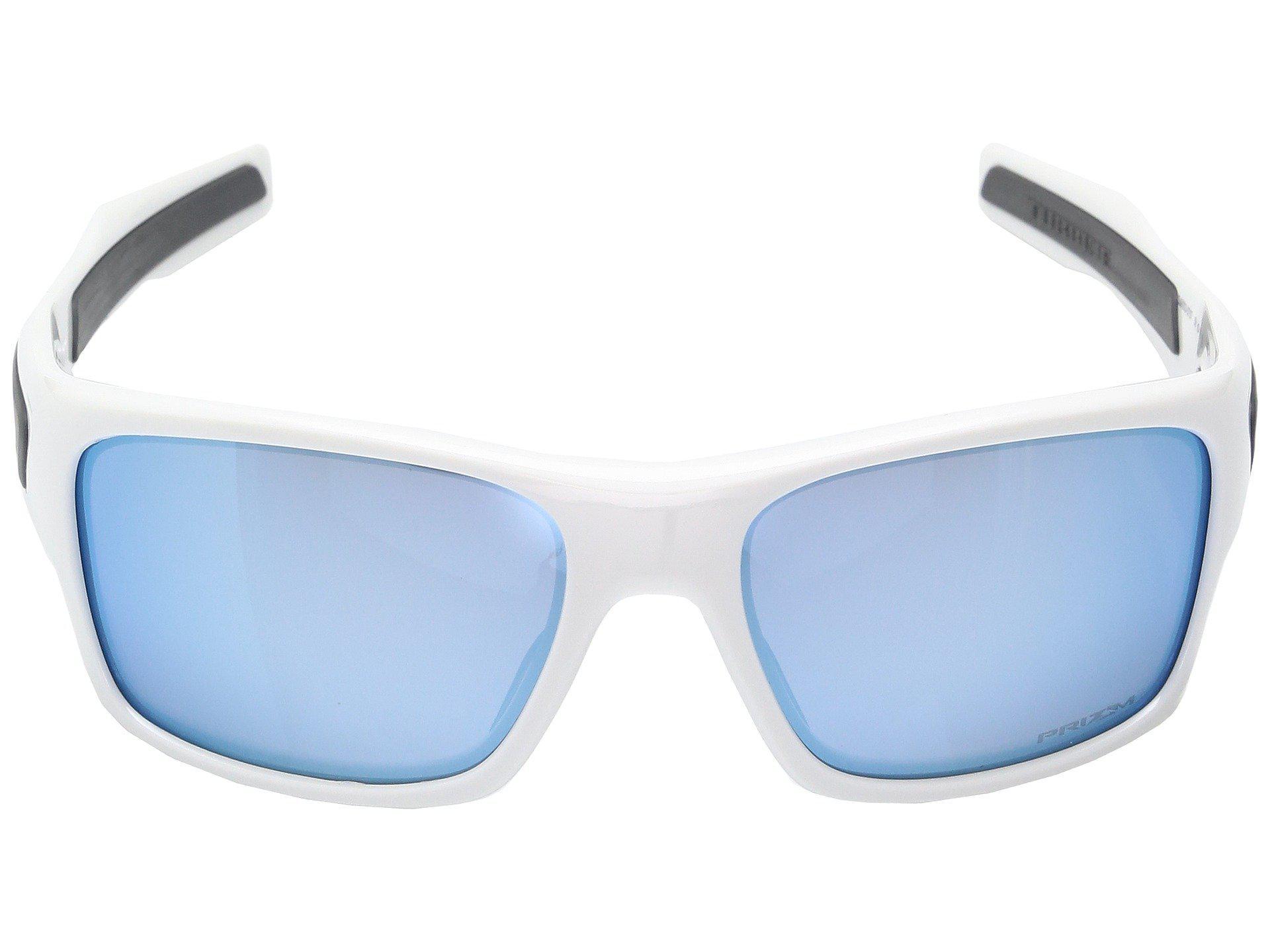 fe513a8818 Oakley - Blue Turbine Xs (polished White W  Prizm Deep Water Polarized)  Fashion. View fullscreen