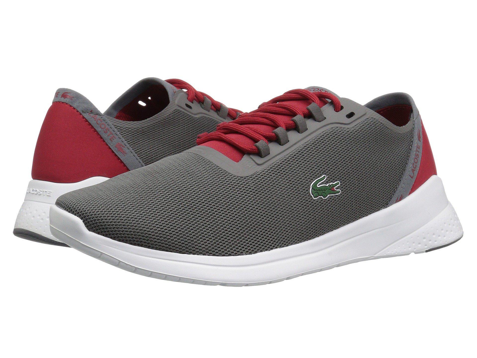 d4ef46990 Lyst - Lacoste Lt Fit 118 4 (black dark Grey) Men s Shoes in Gray ...