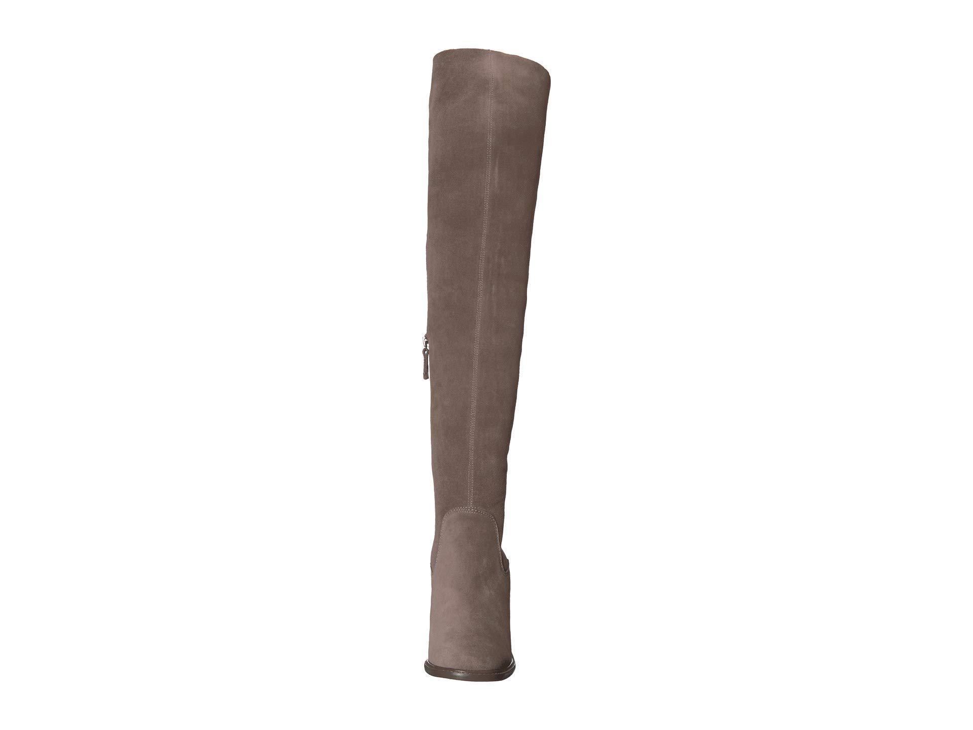 4c8cacb7e0c Lyst - Kelsi Dagger Brooklyn Logan Over The Knee Boot (chestnut ...