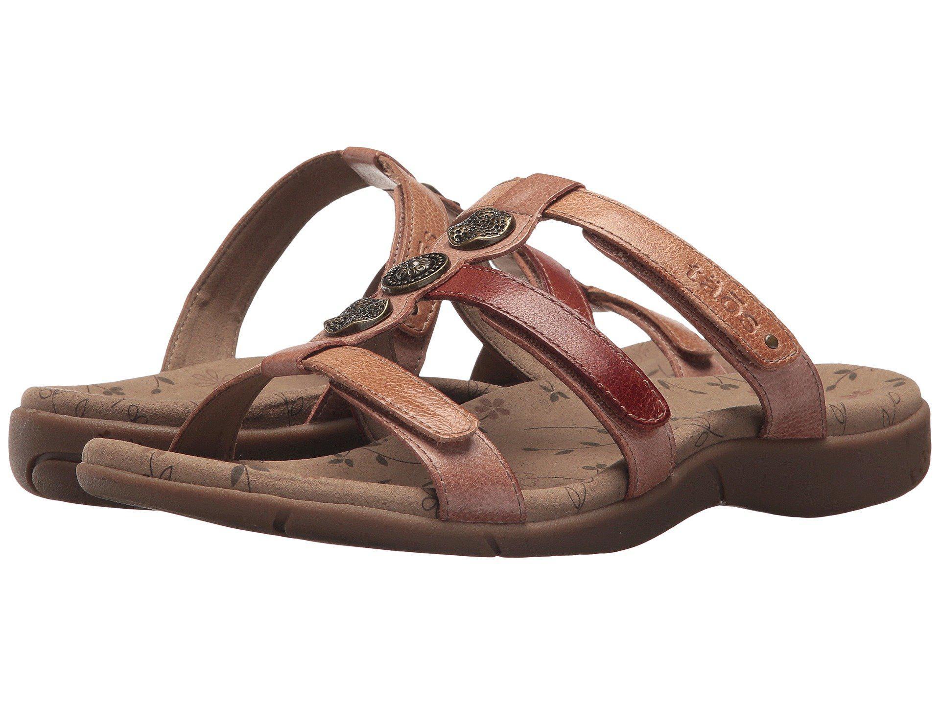 03c3d28b4dd1ad Lyst - Taos Footwear Prize 3 (blush Multi) Women s Shoes in Brown