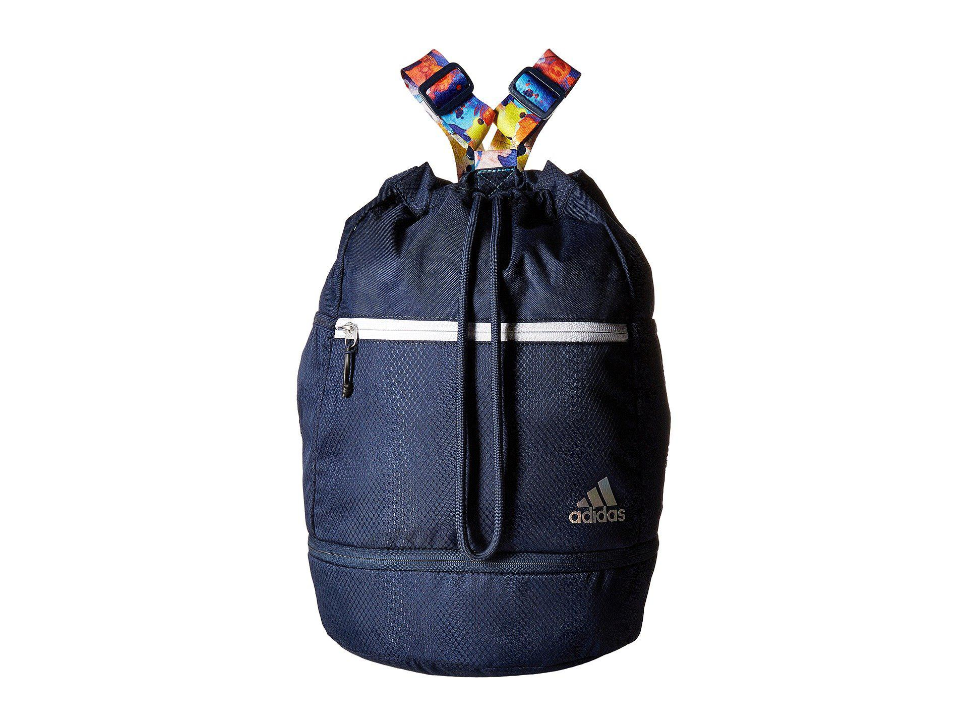 Adidas - Blue Squad Bucket Backpack (black black Jersey) Backpack Bags -  Lyst. View fullscreen 11486c854784f
