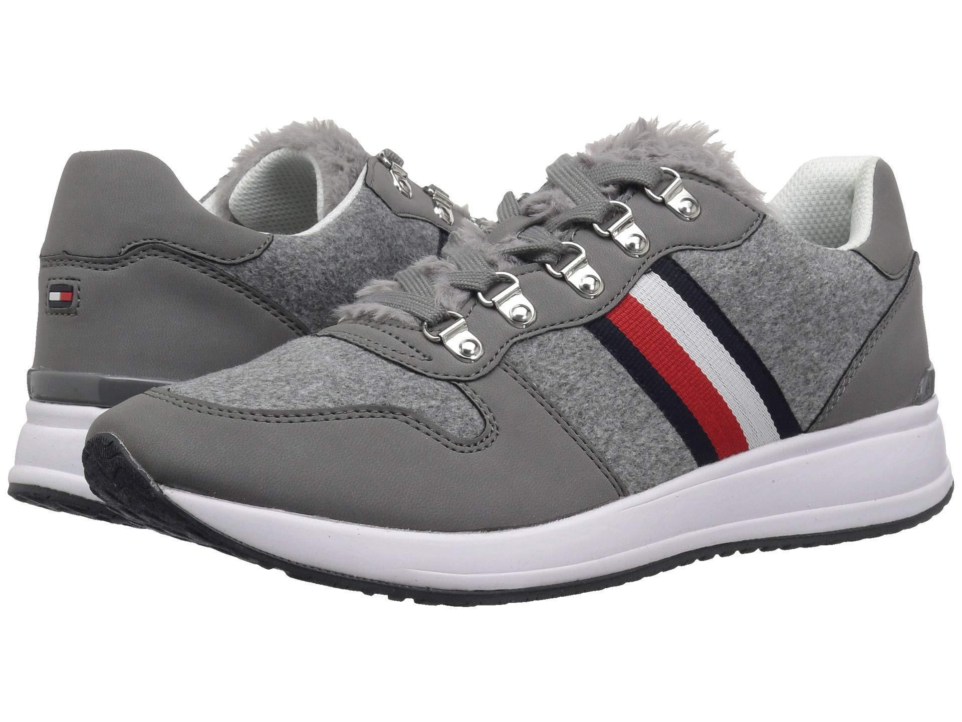 2aefec4b5149 Lyst - Tommy Hilfiger Riplee (grey) Women s Shoes in Gray