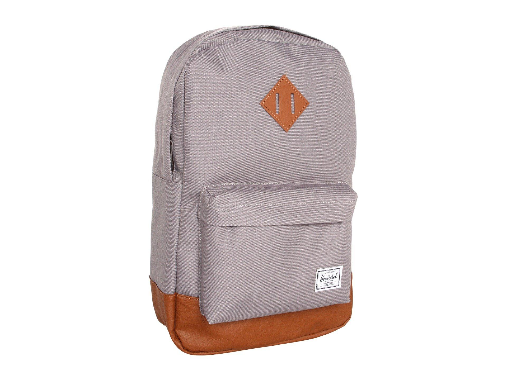 Lyst - Herschel Supply Co. Heritage Mid-volume (black) Backpack Bags ... 201bc439dad5a